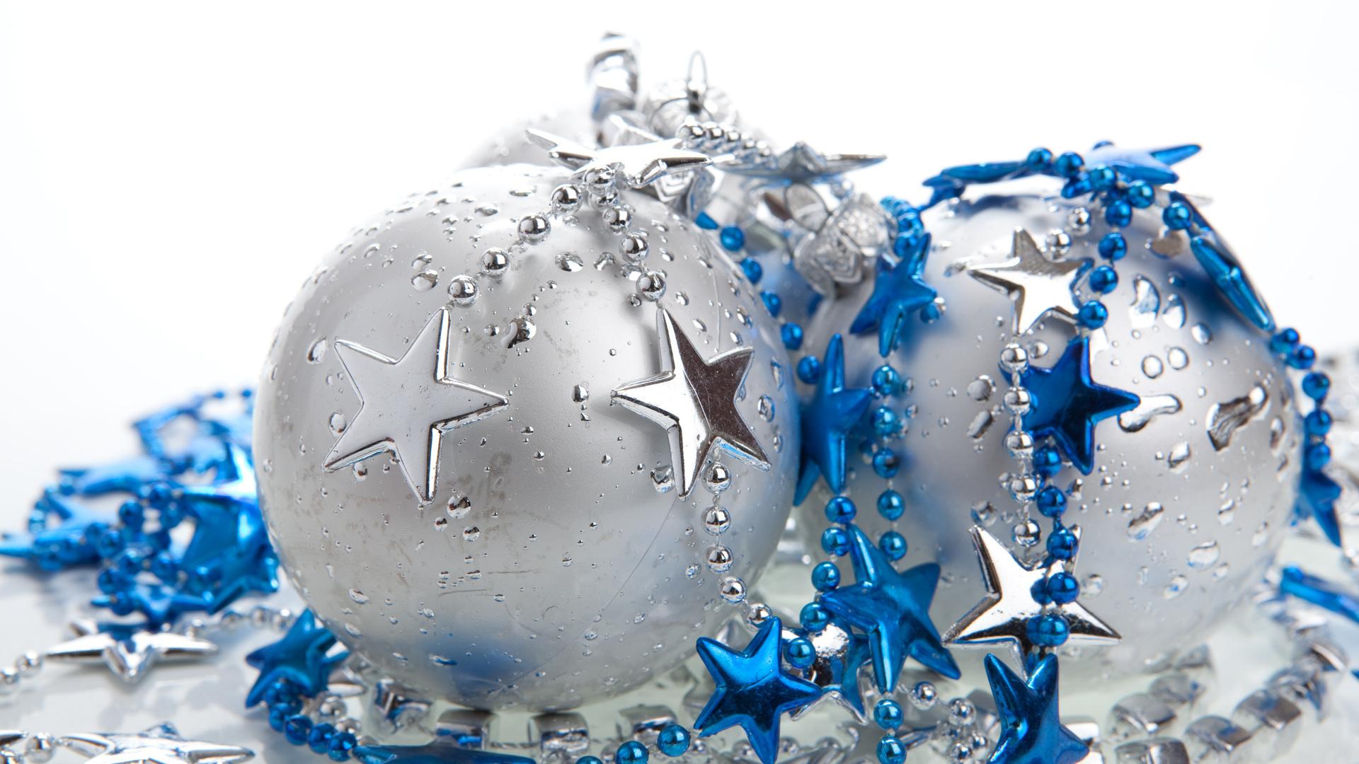 Голубые открытки с новым годом, массажисту