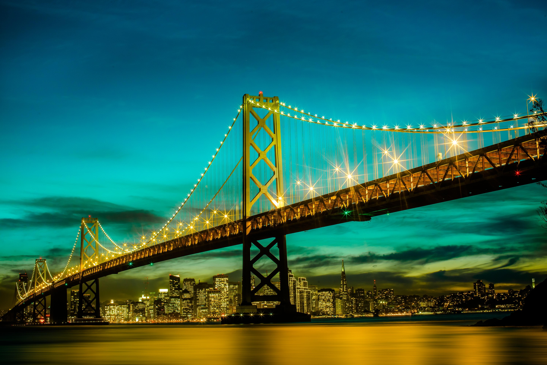 Обои калифорния, bay bridge, san francisco, california. Города foto 19