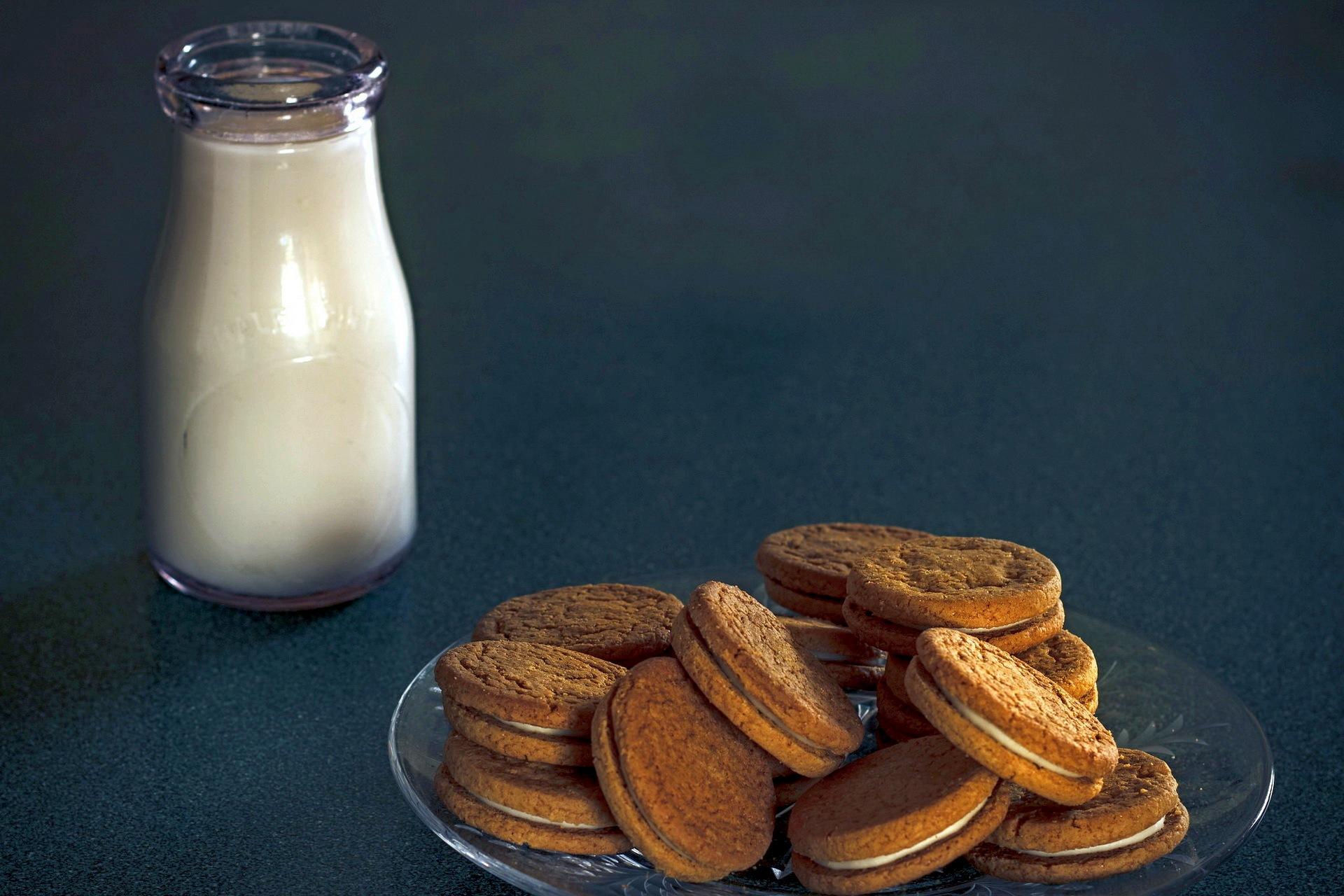 Печенье молоко  № 1615823 бесплатно