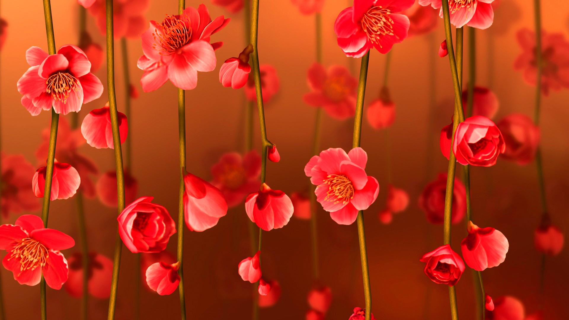 цветок красный без регистрации