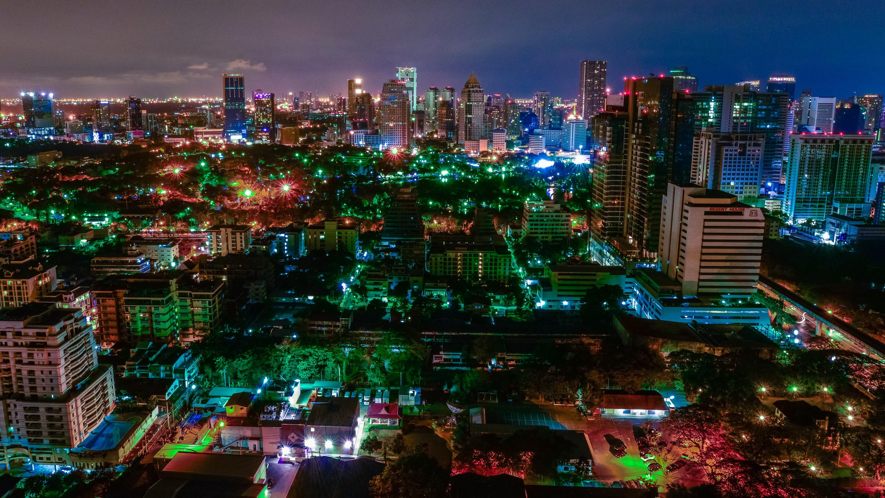 страны архитектура Бангкок Таиланд ночь  № 2195132 загрузить