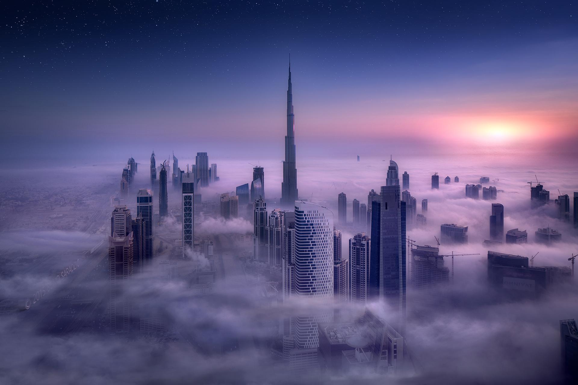 небоскребы закат город skyscrapers sunset the city  № 683758  скачать