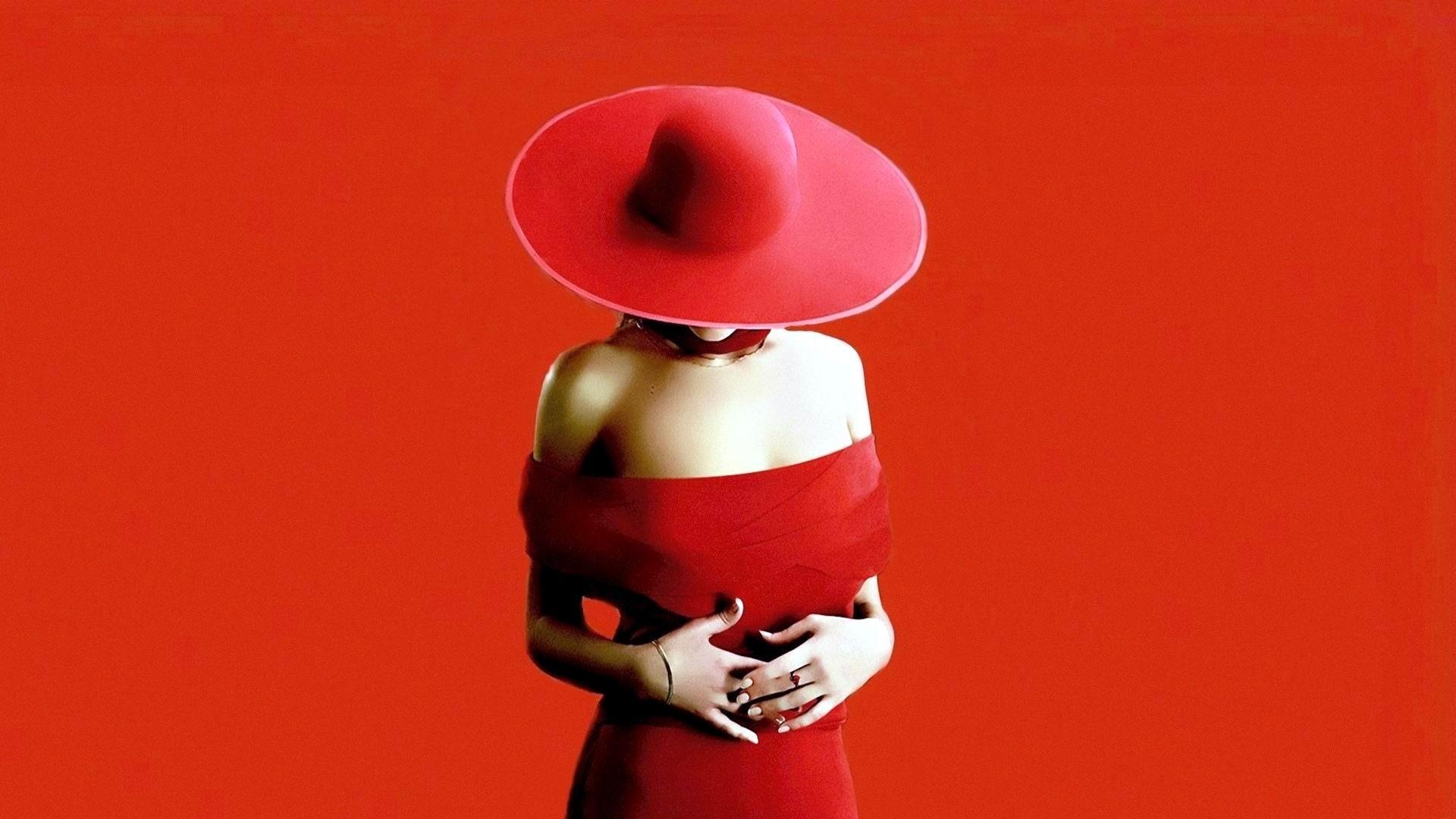 француженка в красной шляпе  № 156117 бесплатно