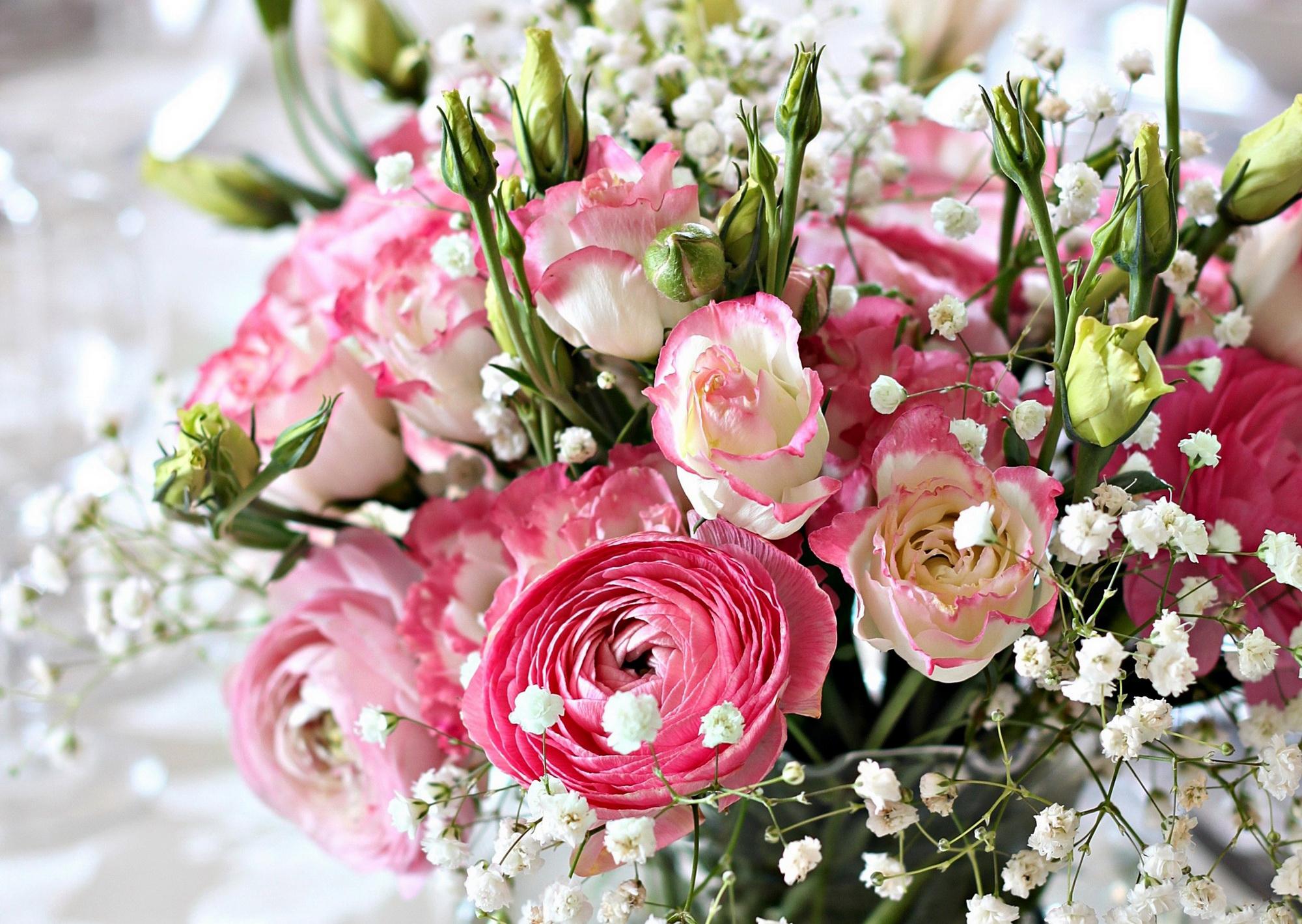 Эустома букеты цветов