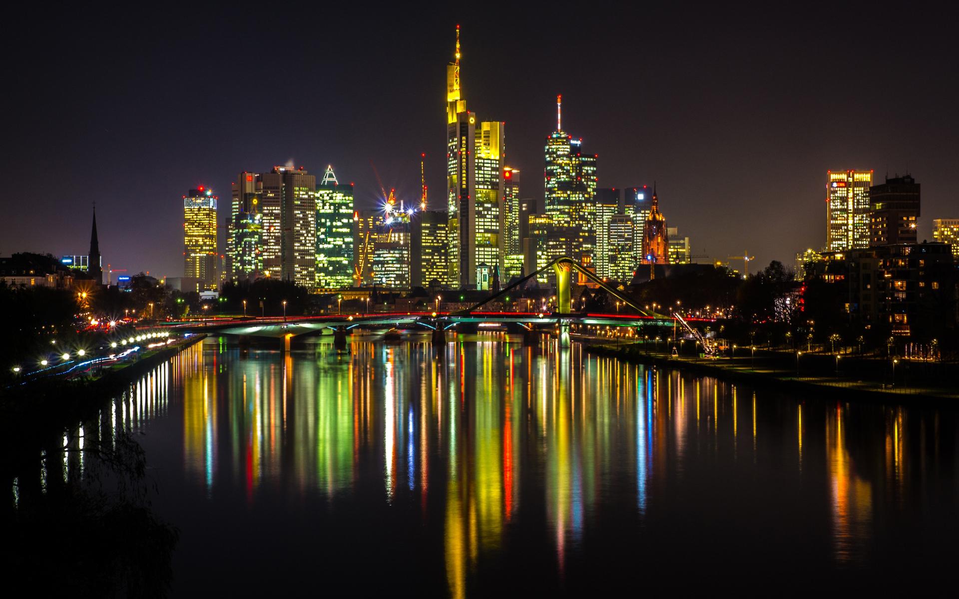 страны архитектура Франкфурт-на-Майне Германия  № 1468121 загрузить