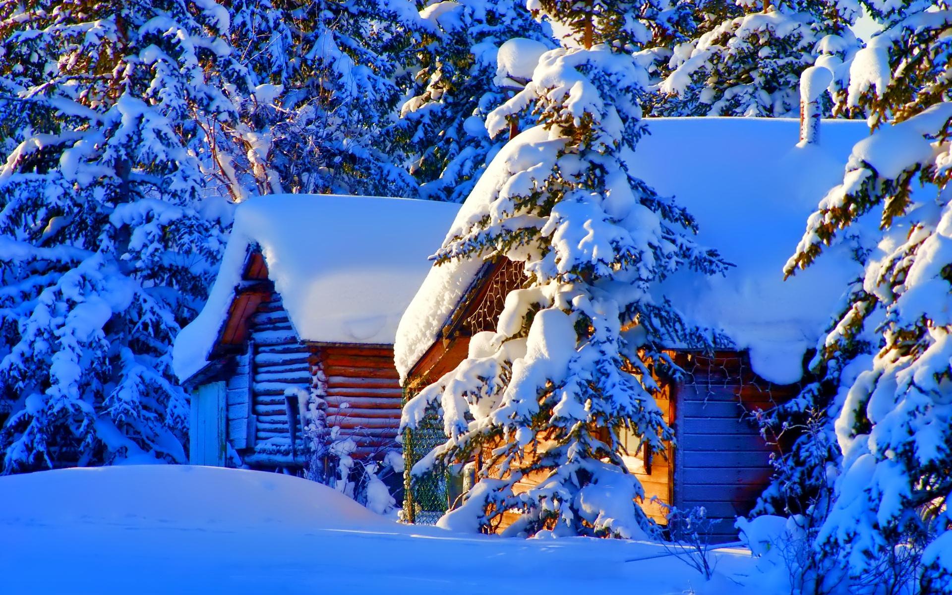 тонким, картинка снежные домики подходящего варианта
