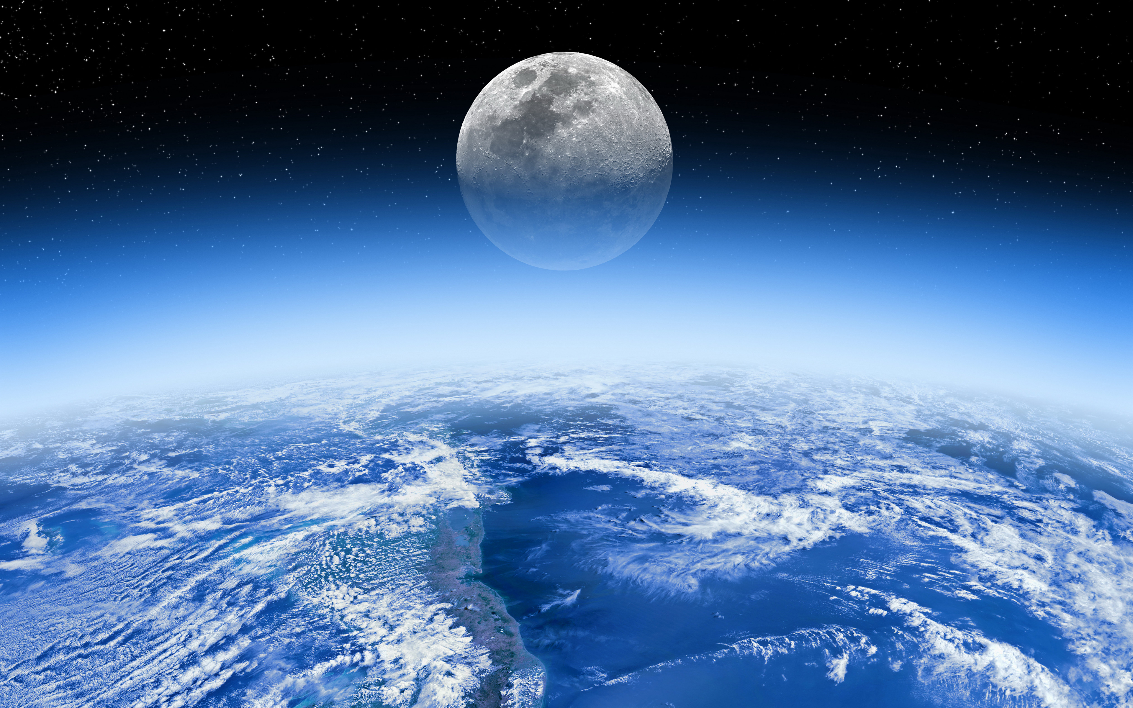 Фото космоса и луны