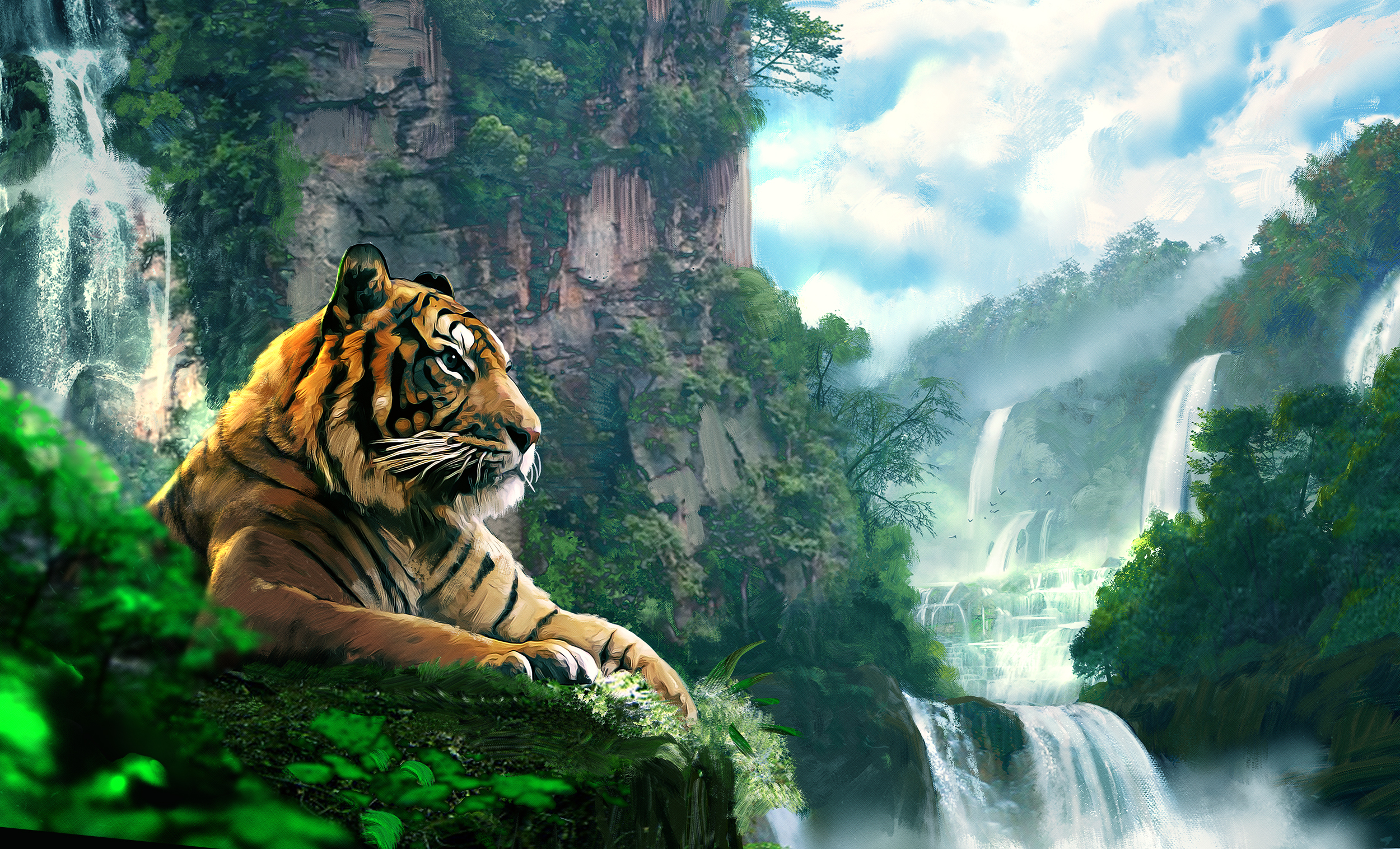 обои на телефон тигрята фотообои испокон веков