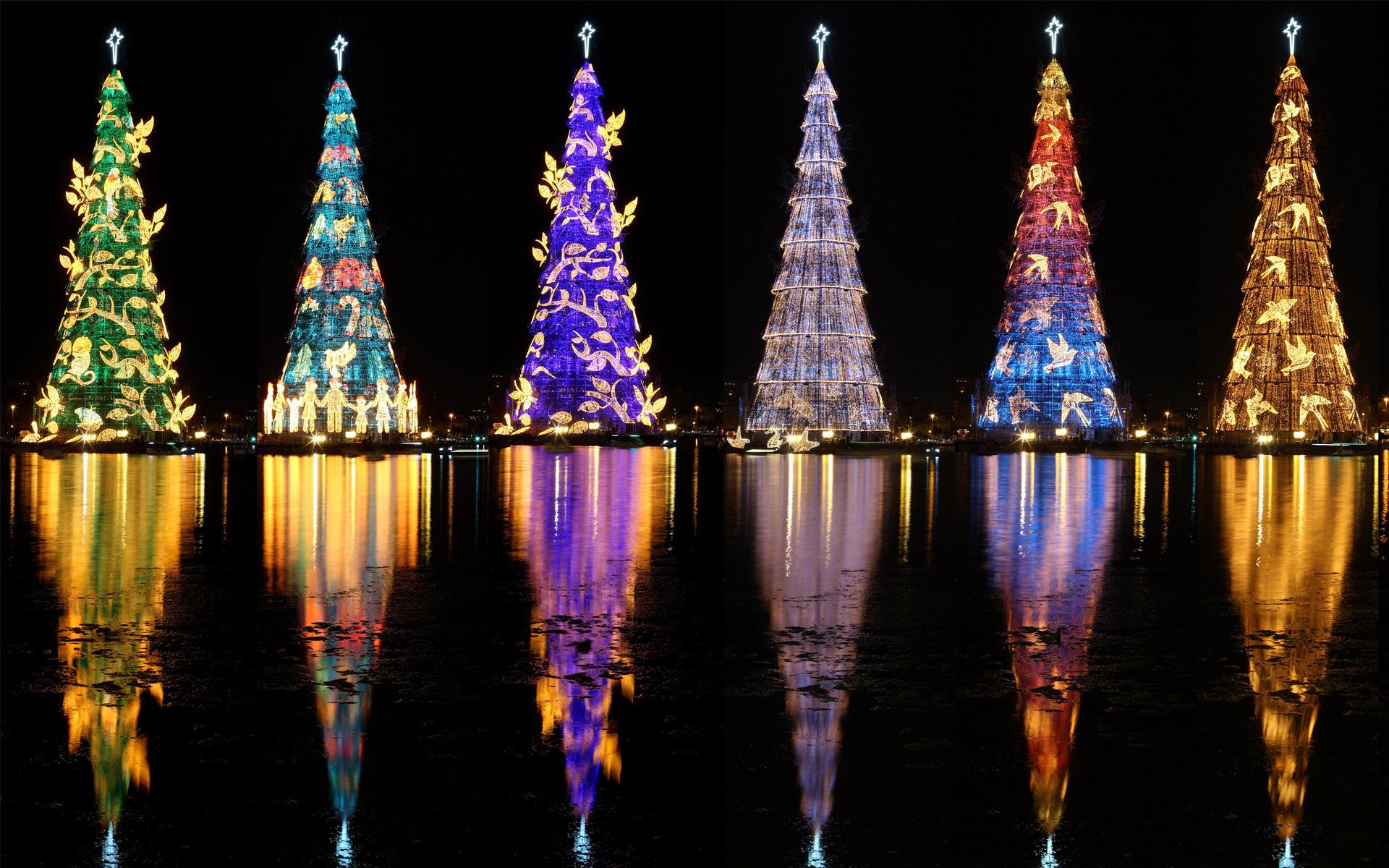 картинки самые красивые елки на новый год больше пикселей