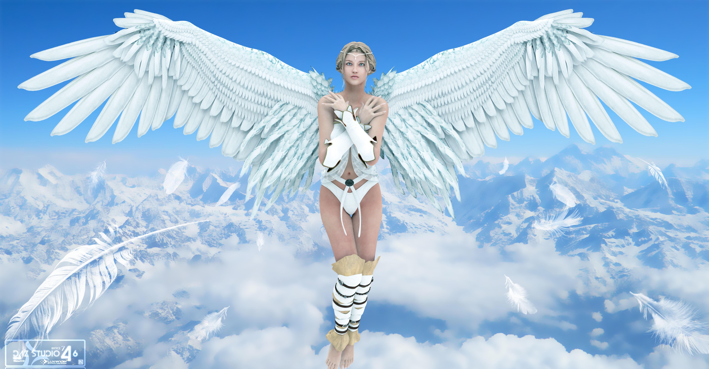 Ангелы в небе  № 2270141 без смс