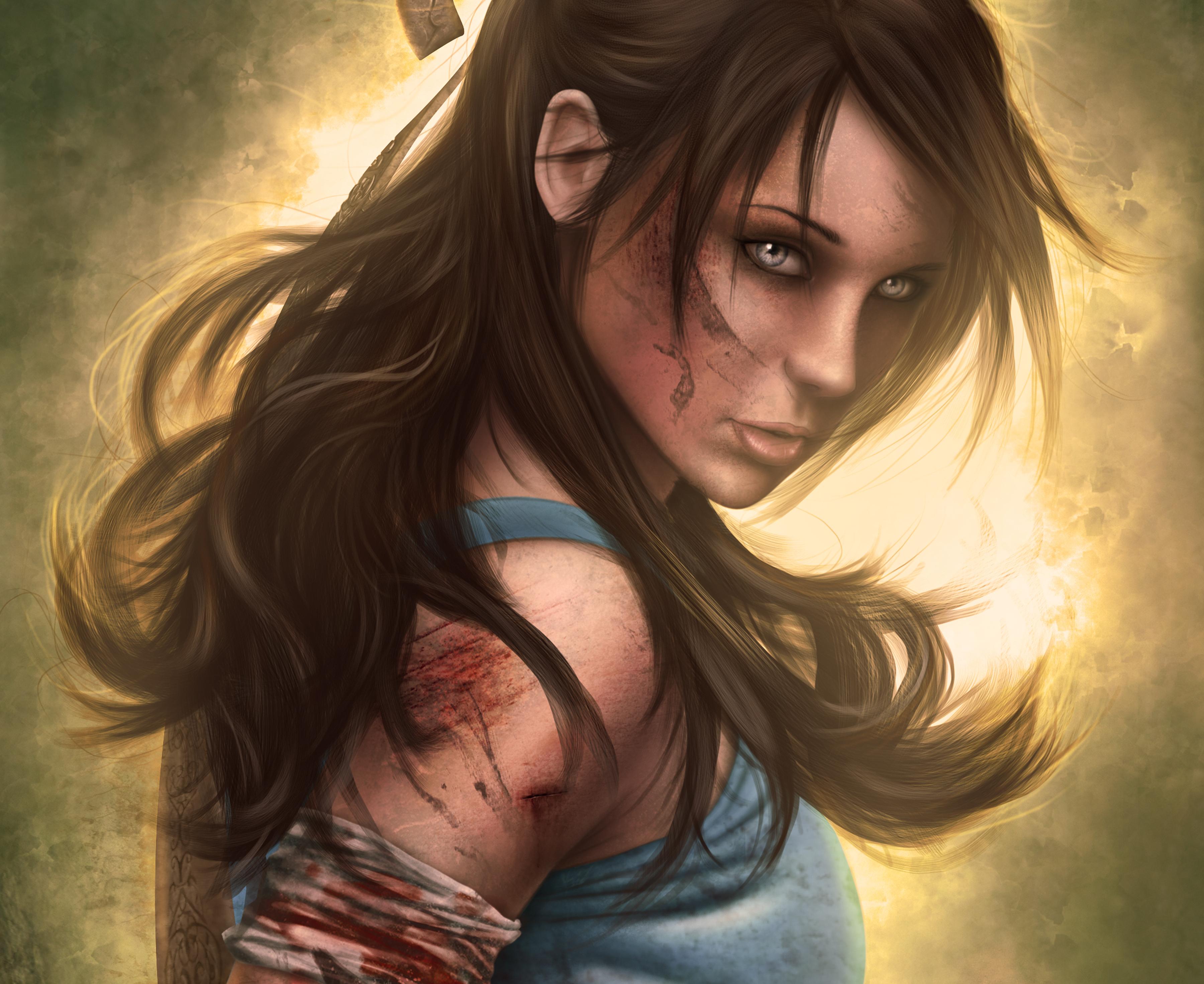 Lara croft hair nude toons