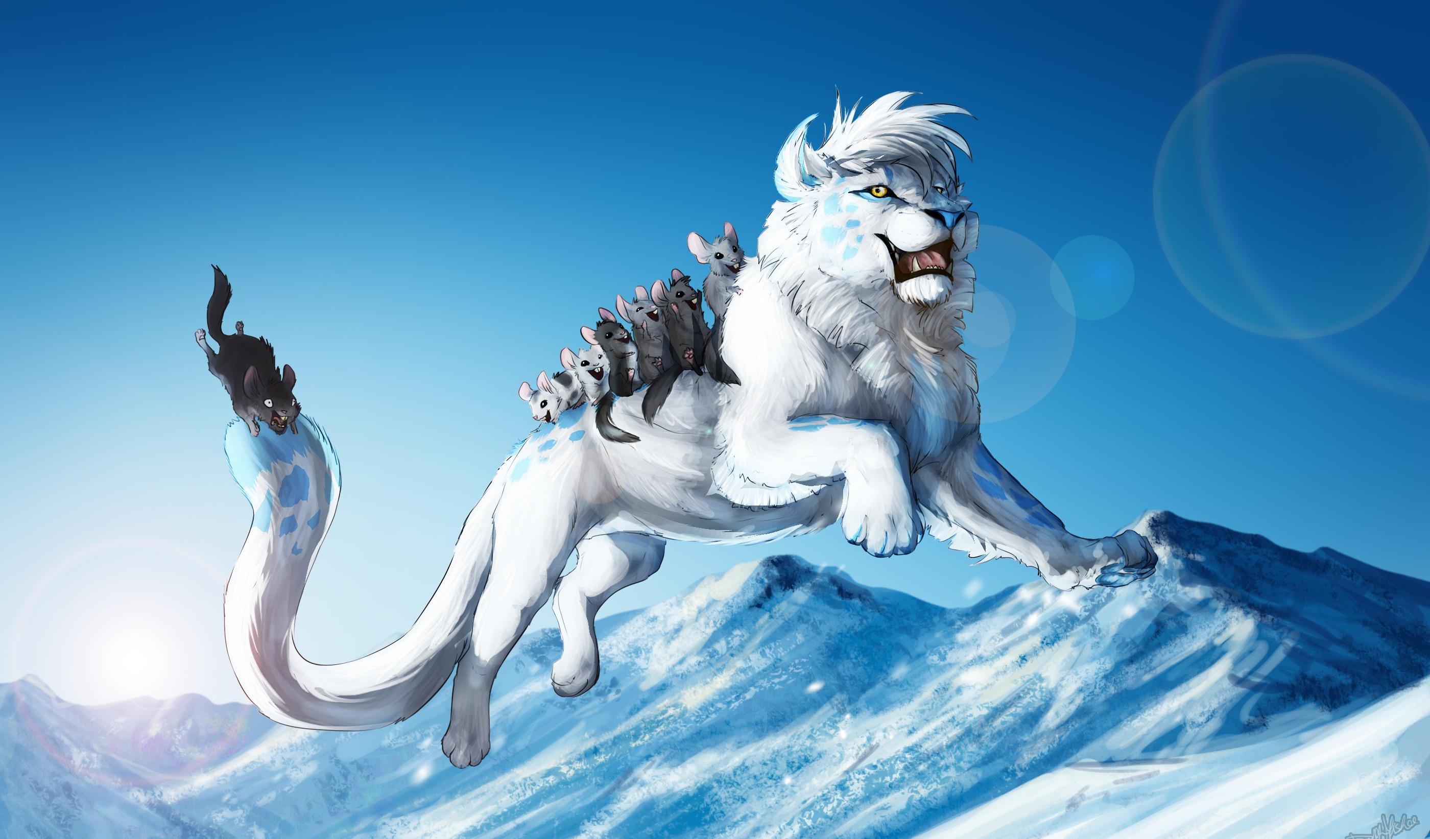 Красивые картинки зверей и животных фантастика