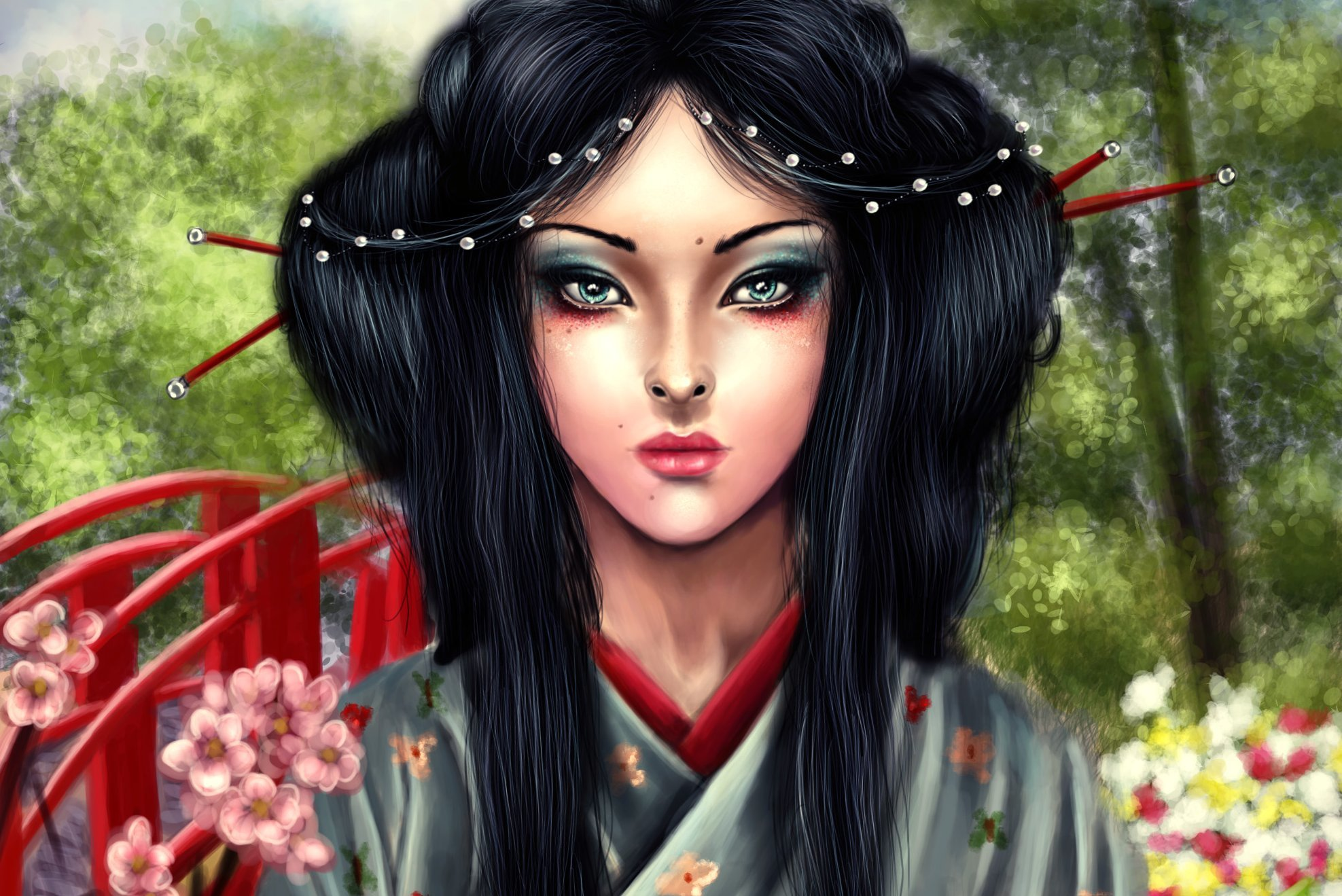 Rubies Costume China Girl Wig  amazoncom