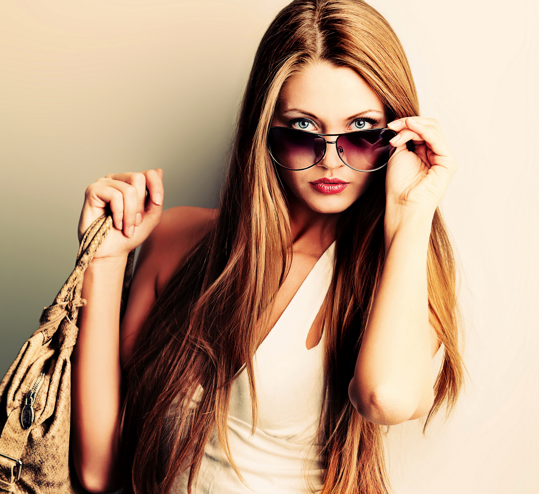 Фото девушек шатенок модных