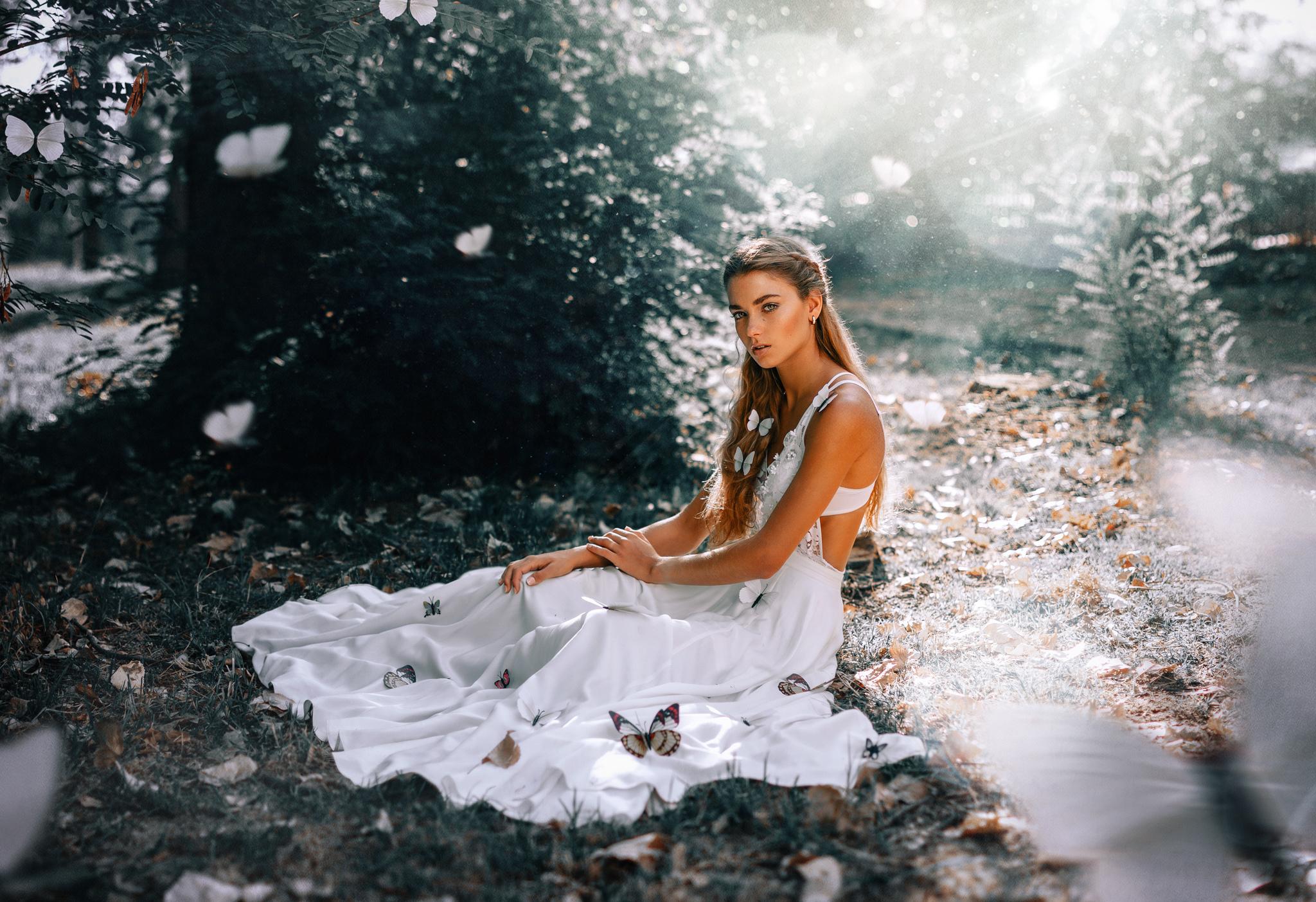 девушки бабочка платье скачать