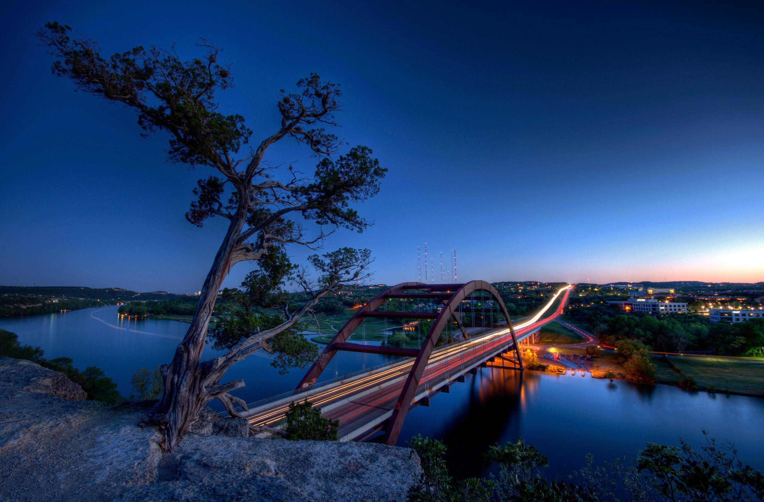 Город река мост  № 3888364 загрузить