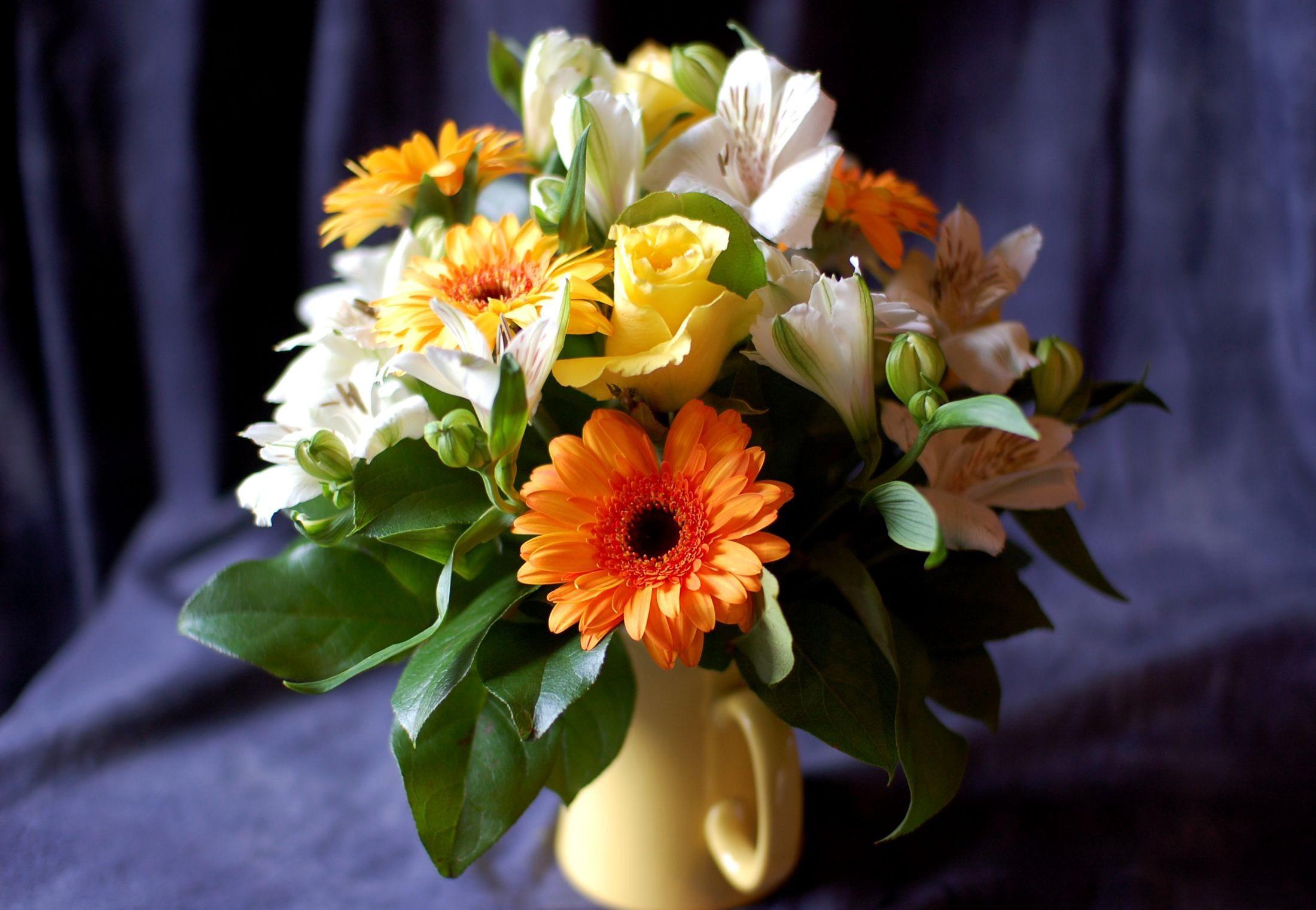Букеты цветов фото и обои