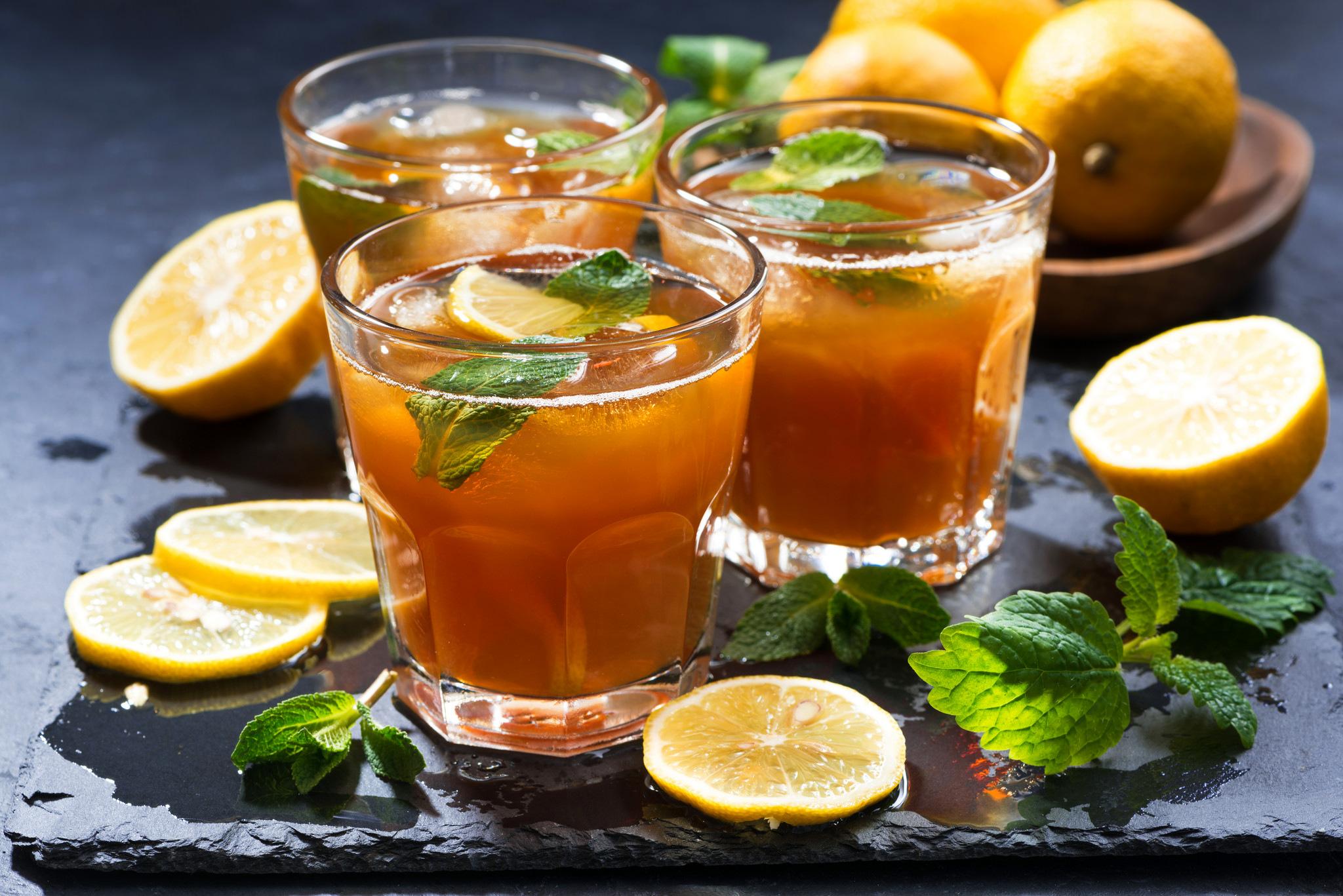 картинки чая с лимоном и мятой