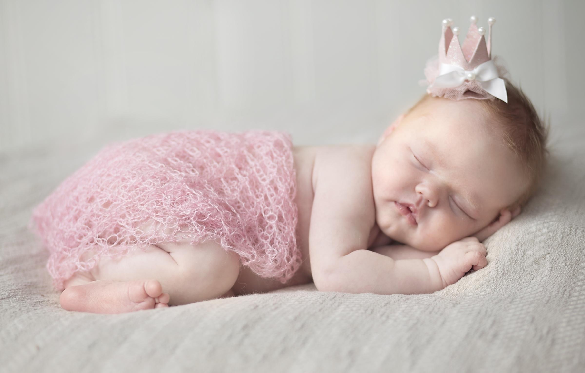 Новорожденные девочки красивые открытки