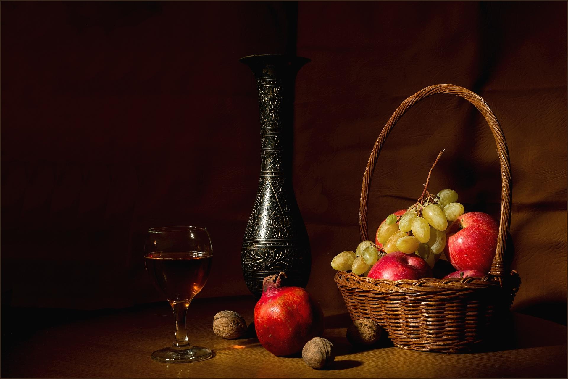еда курица свечи виноград яблоки бесплатно