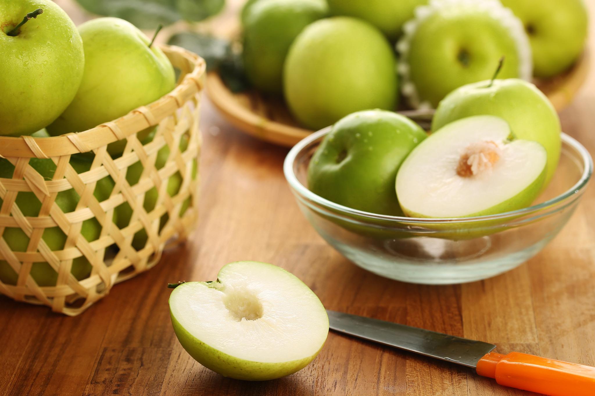 Зеленый яблоки при похудении
