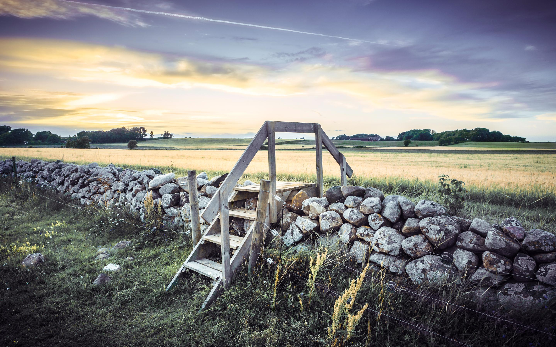 Шотландский каменный забор  № 2453374 без смс