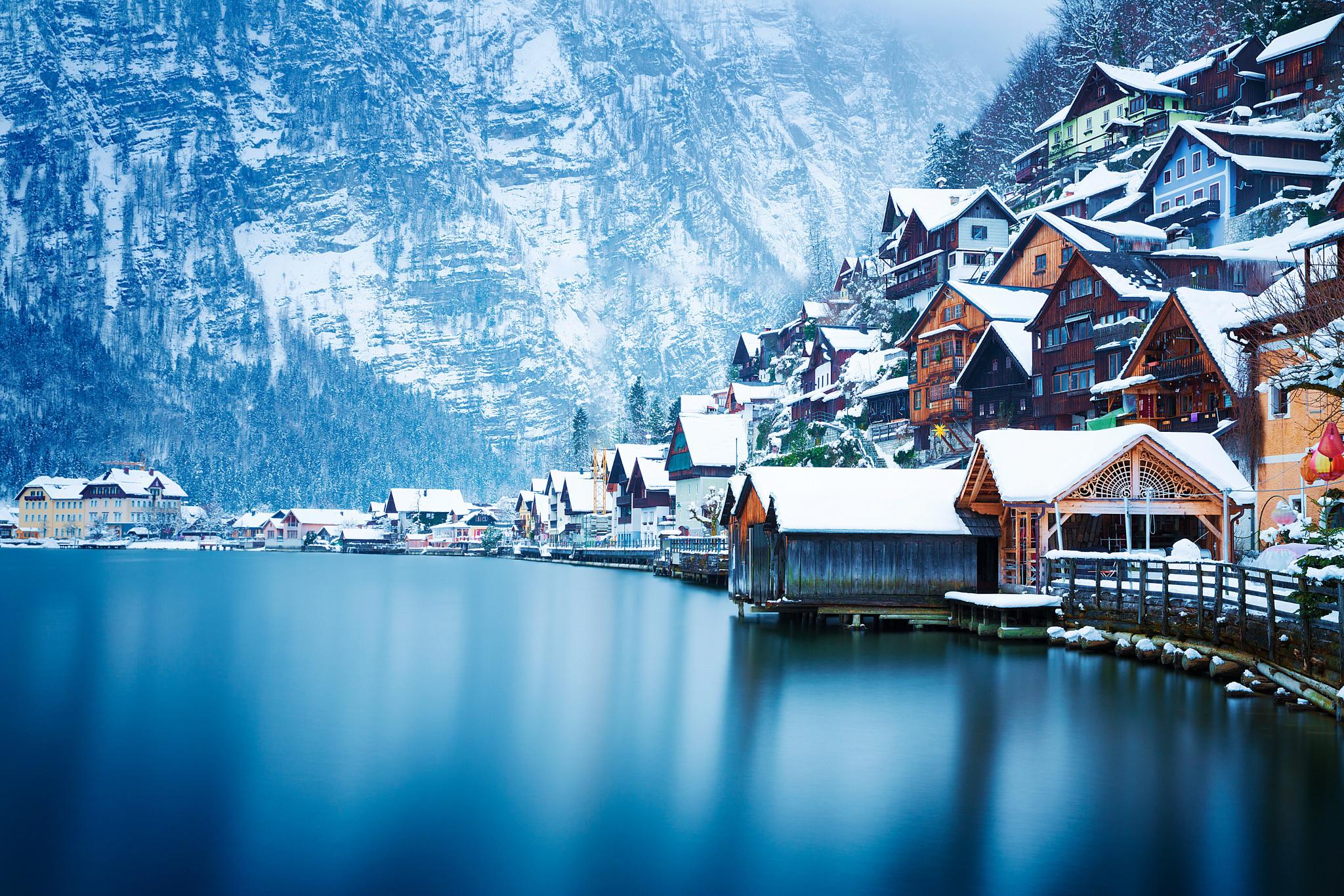 австрия горы обои на рабочий стол № 546398 бесплатно