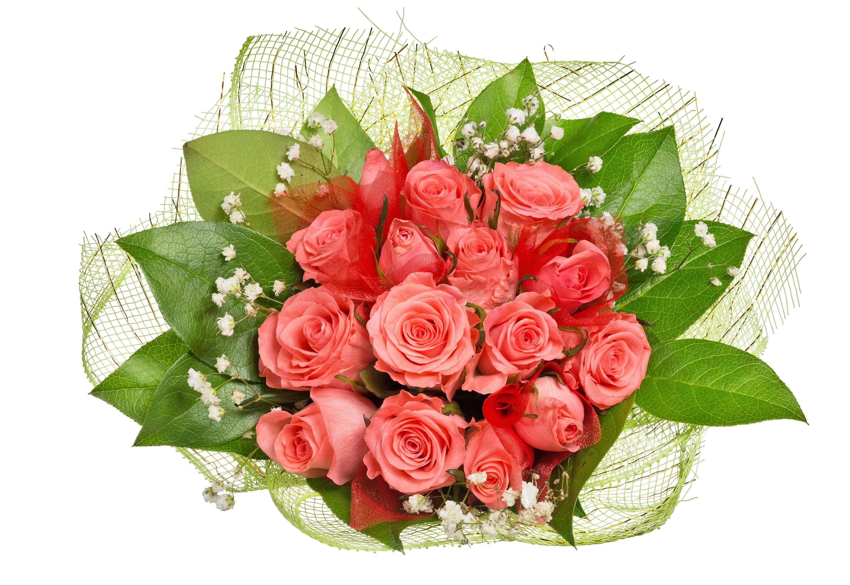 Поздравление, открытка с букетом роз к марта