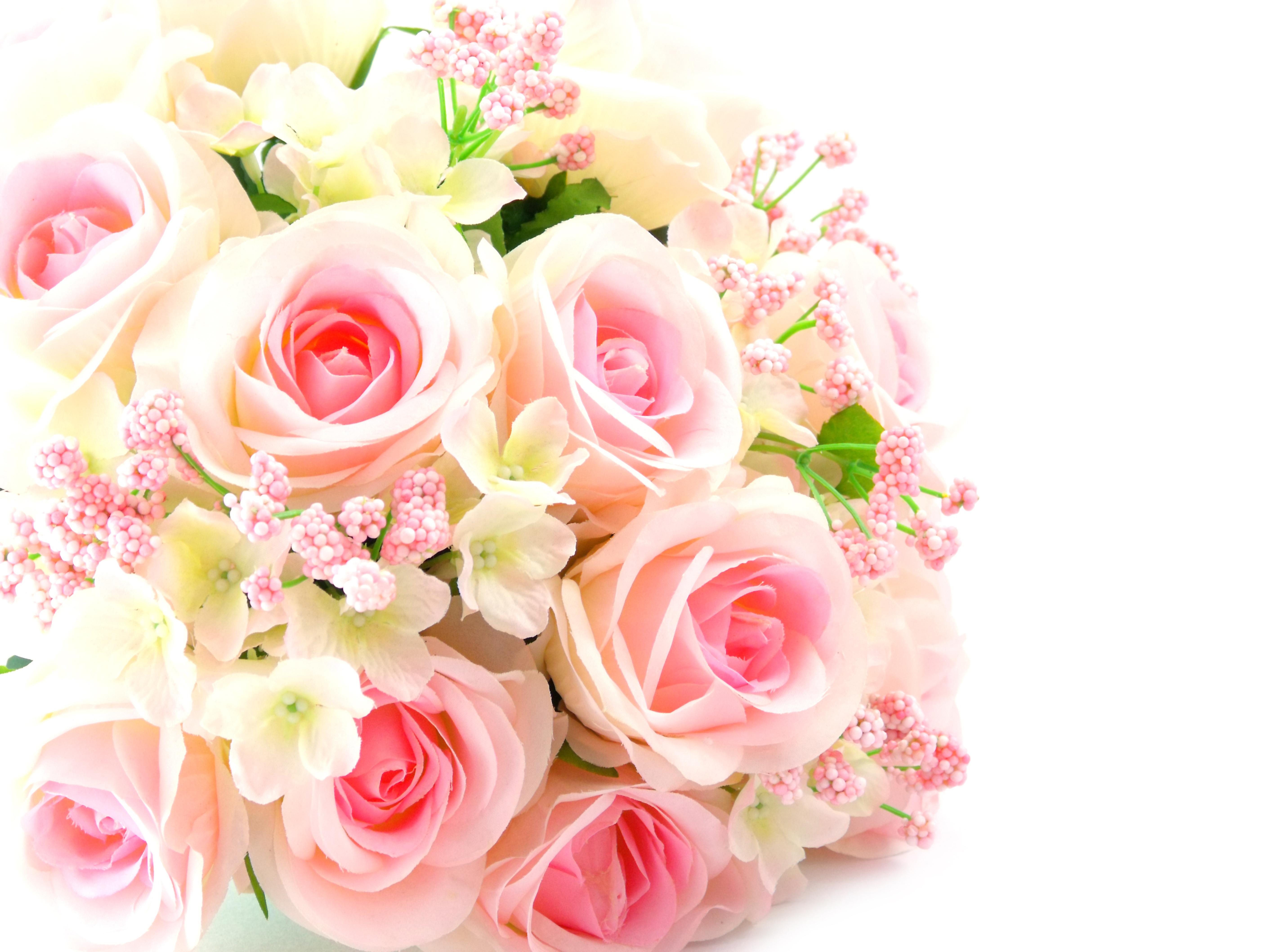 Открытка розовый букет, картинки