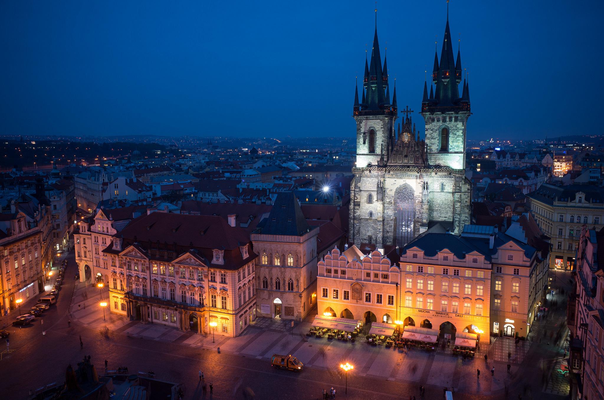Прага фото обои на рабочий стол