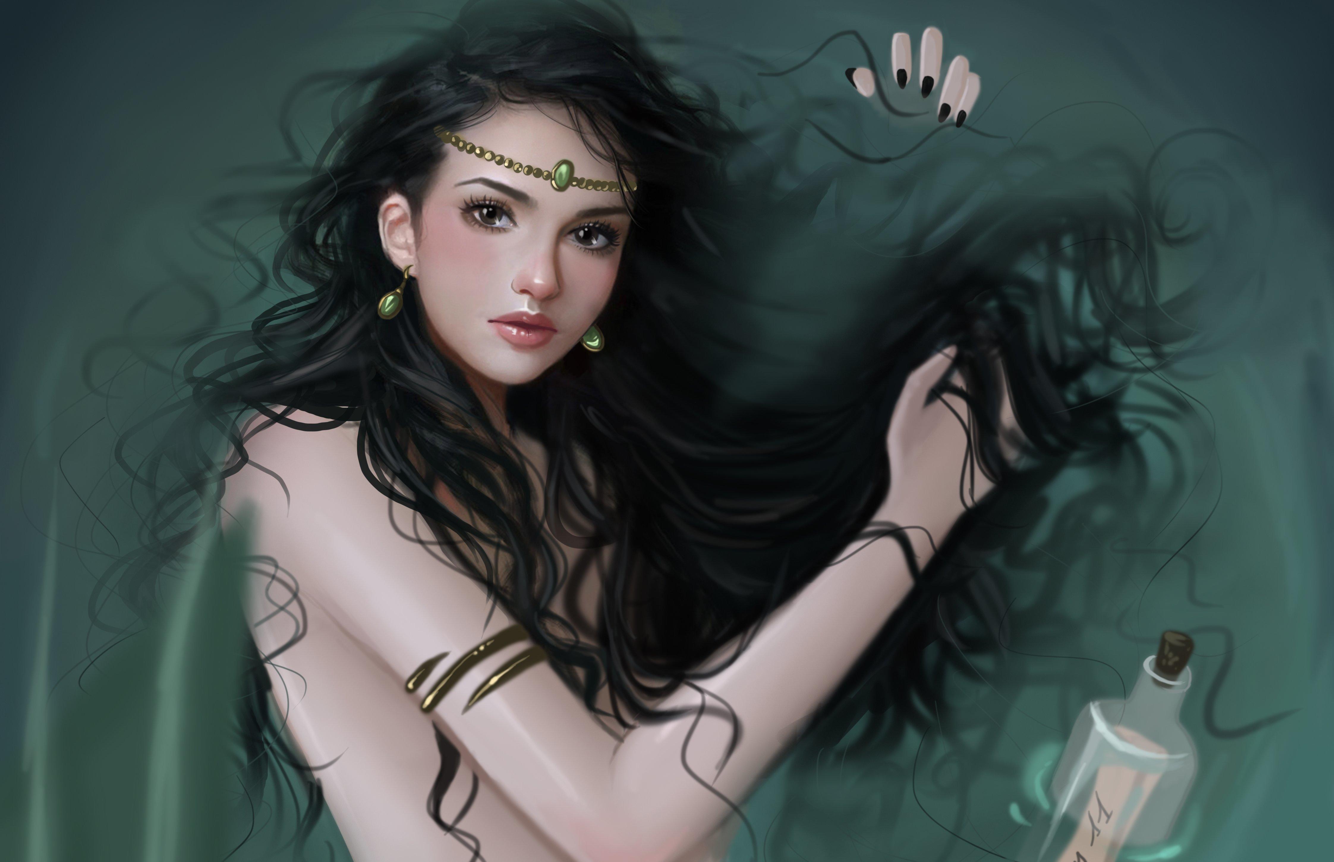 Картинка фэнтези девушка