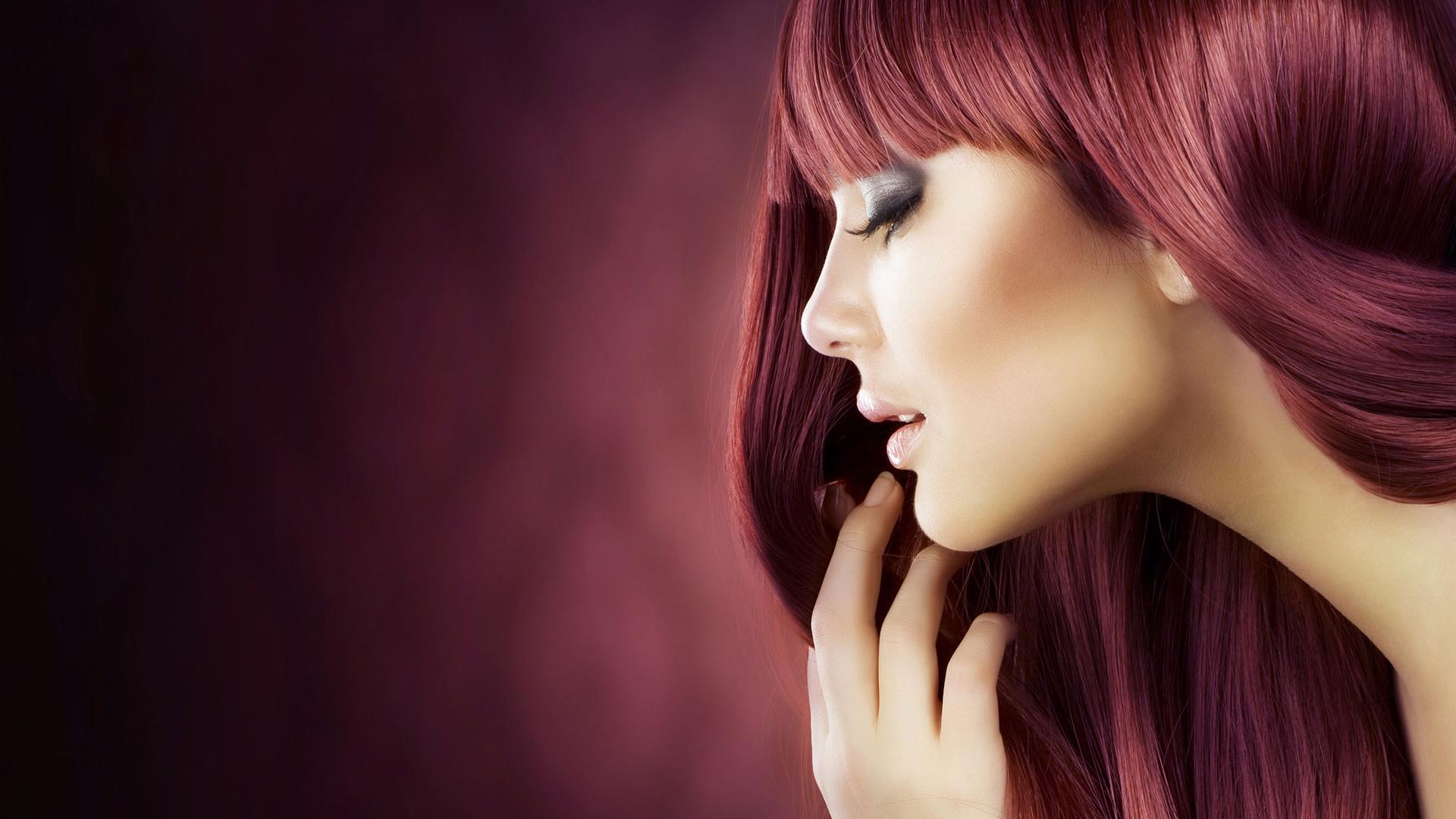 Closeup Beauty Studio Fashion Portrait Young Stock Foto