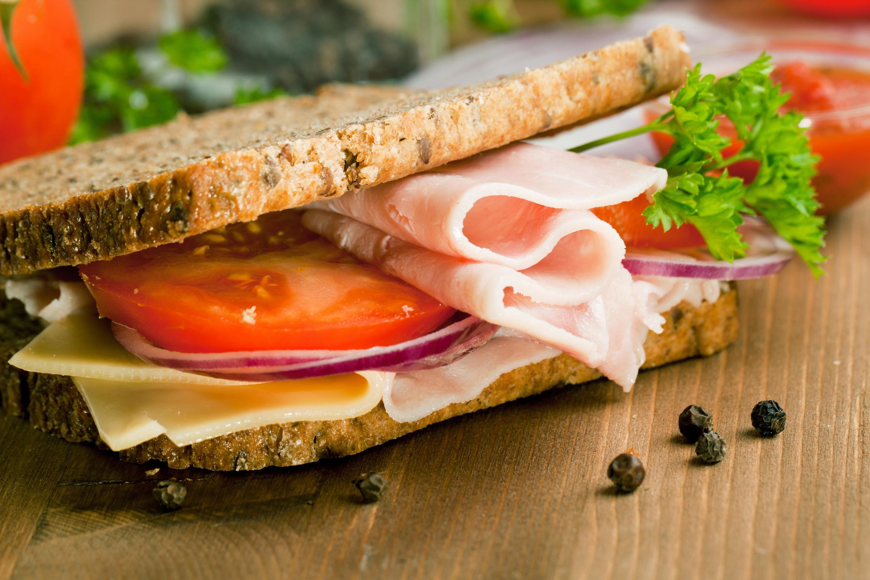 Картинки бутерброды с помидорами