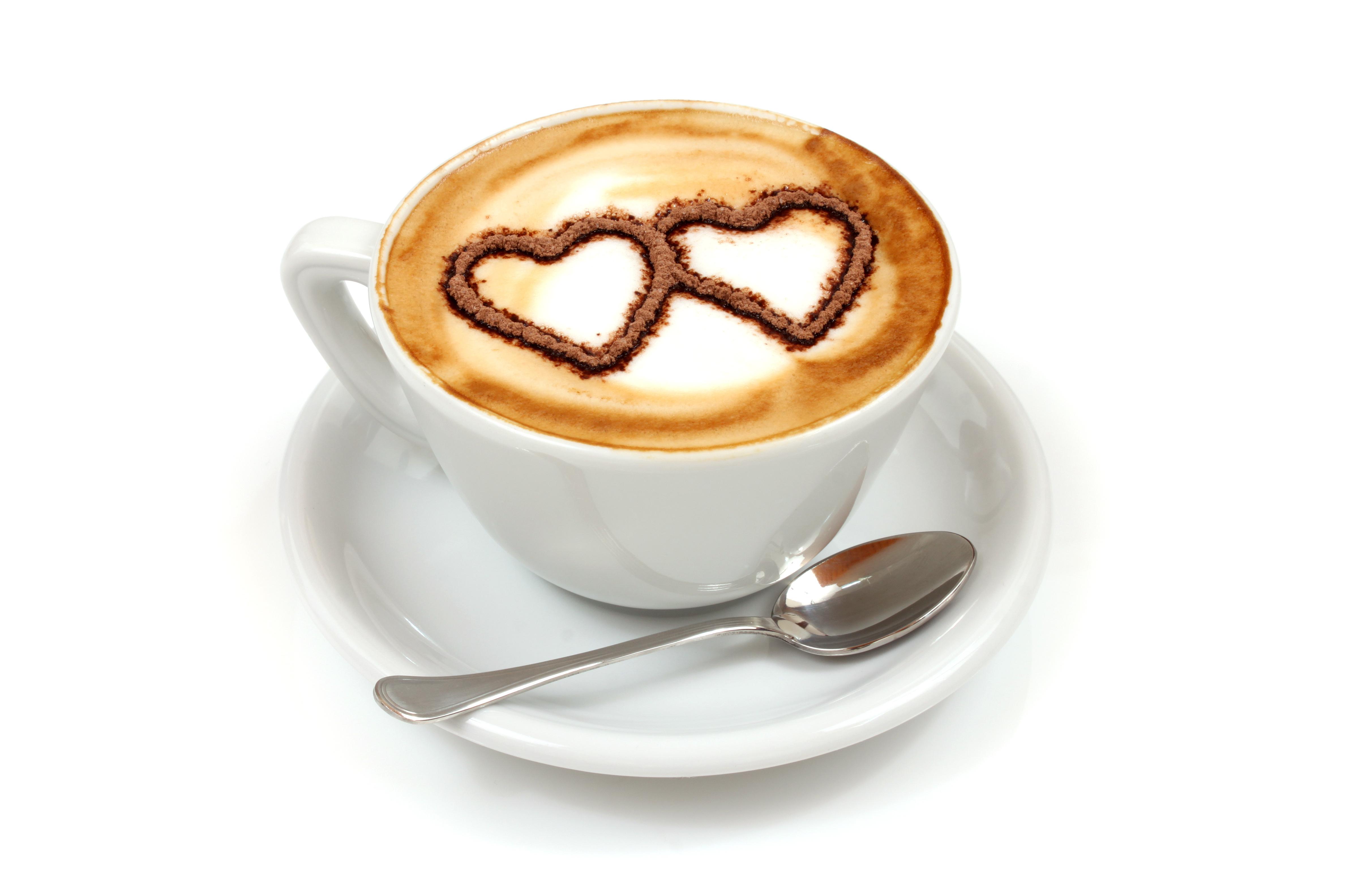 сердце и кофе картинка первый