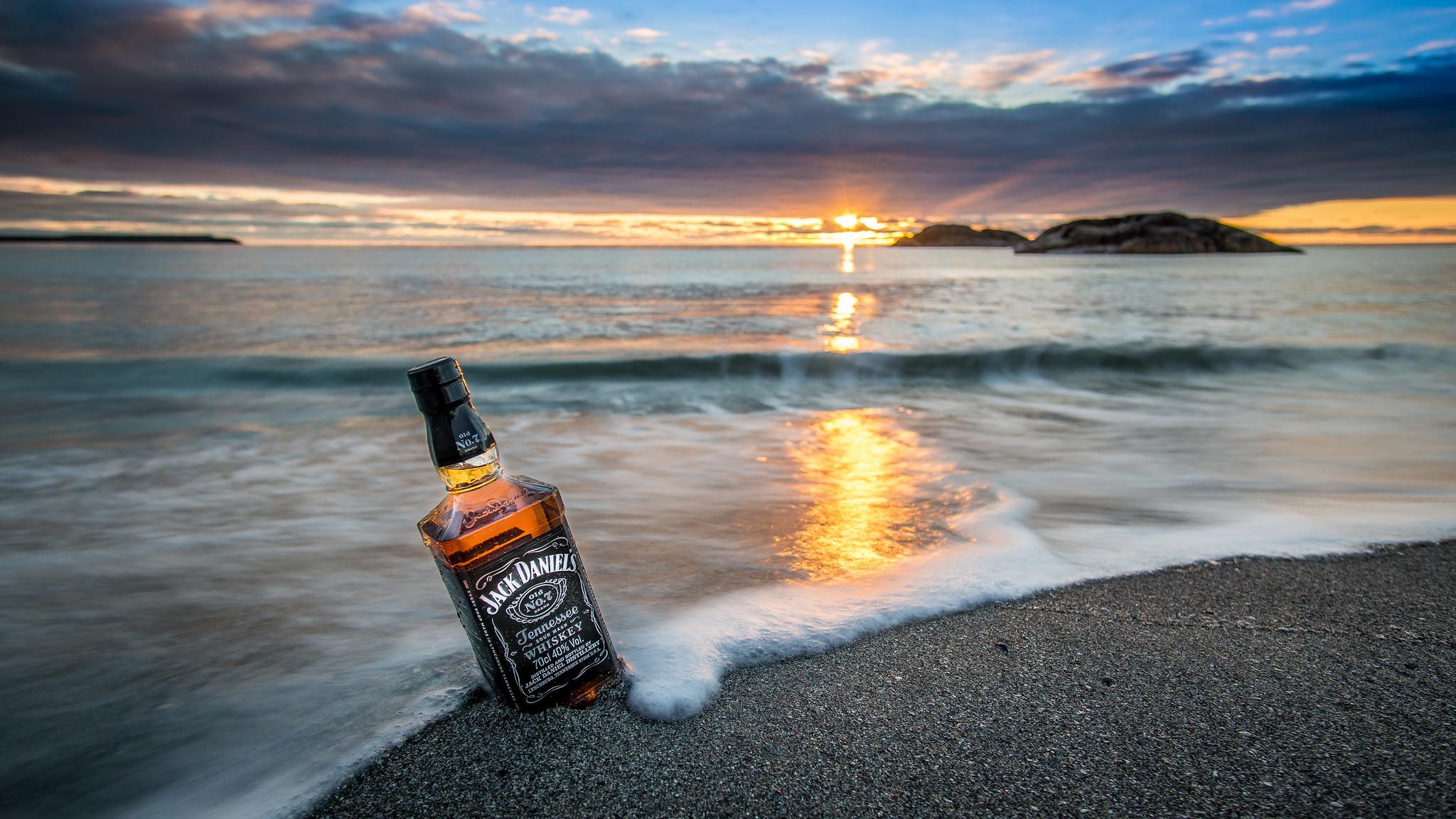 Бутылка волна ночь загрузить