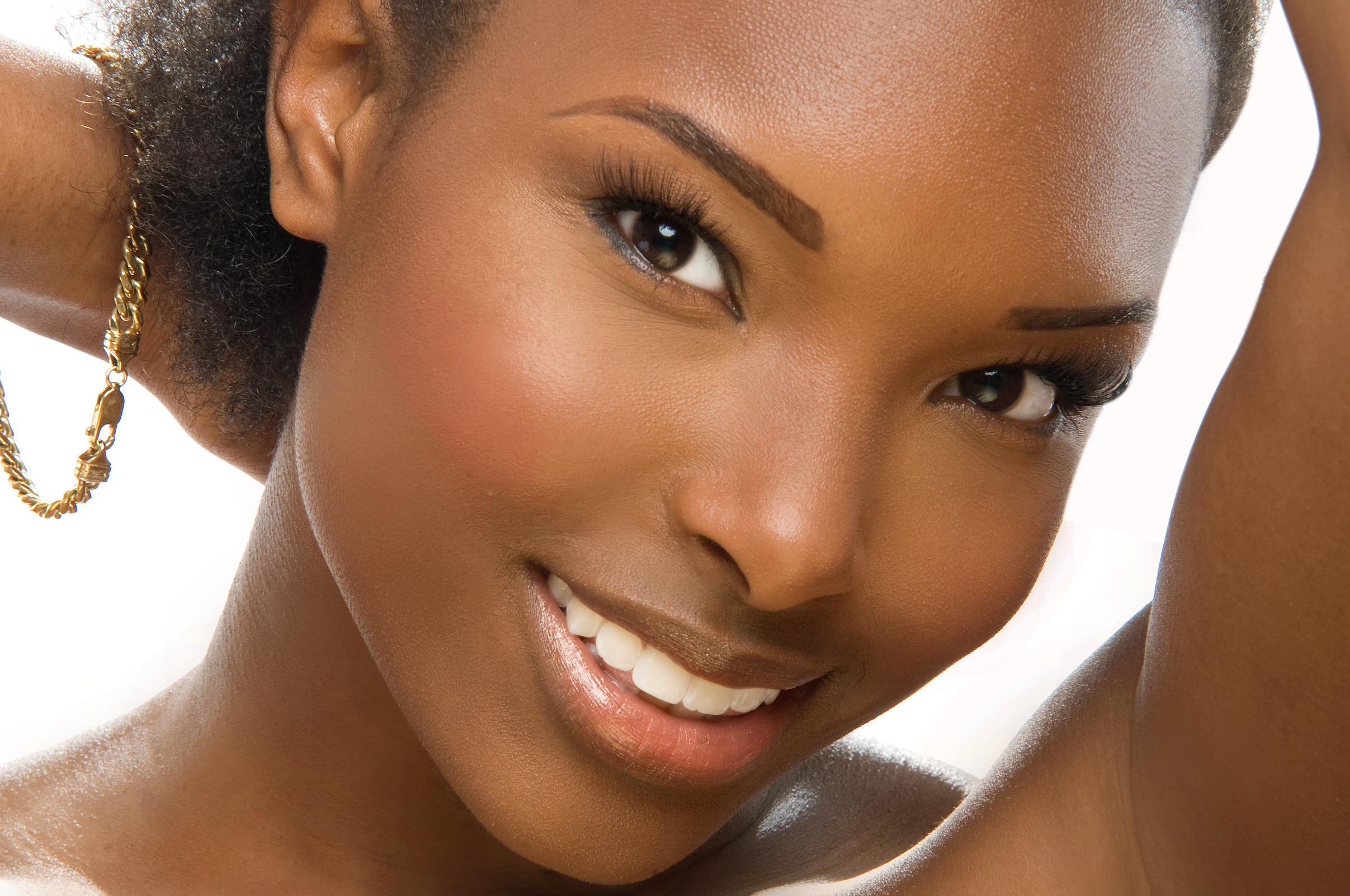 Красивая афроамериканка самая