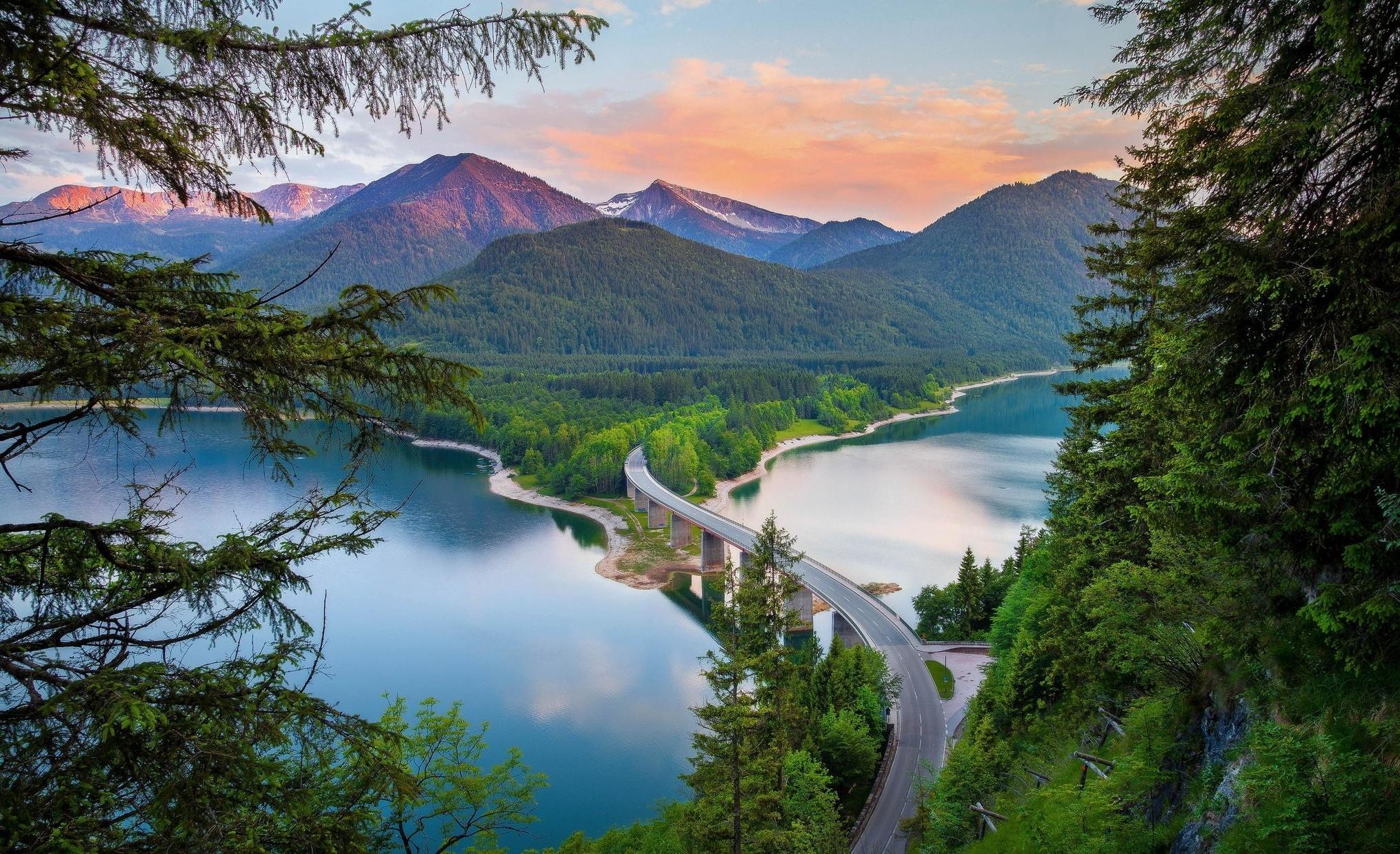 природа горы река nature mountains river без смс