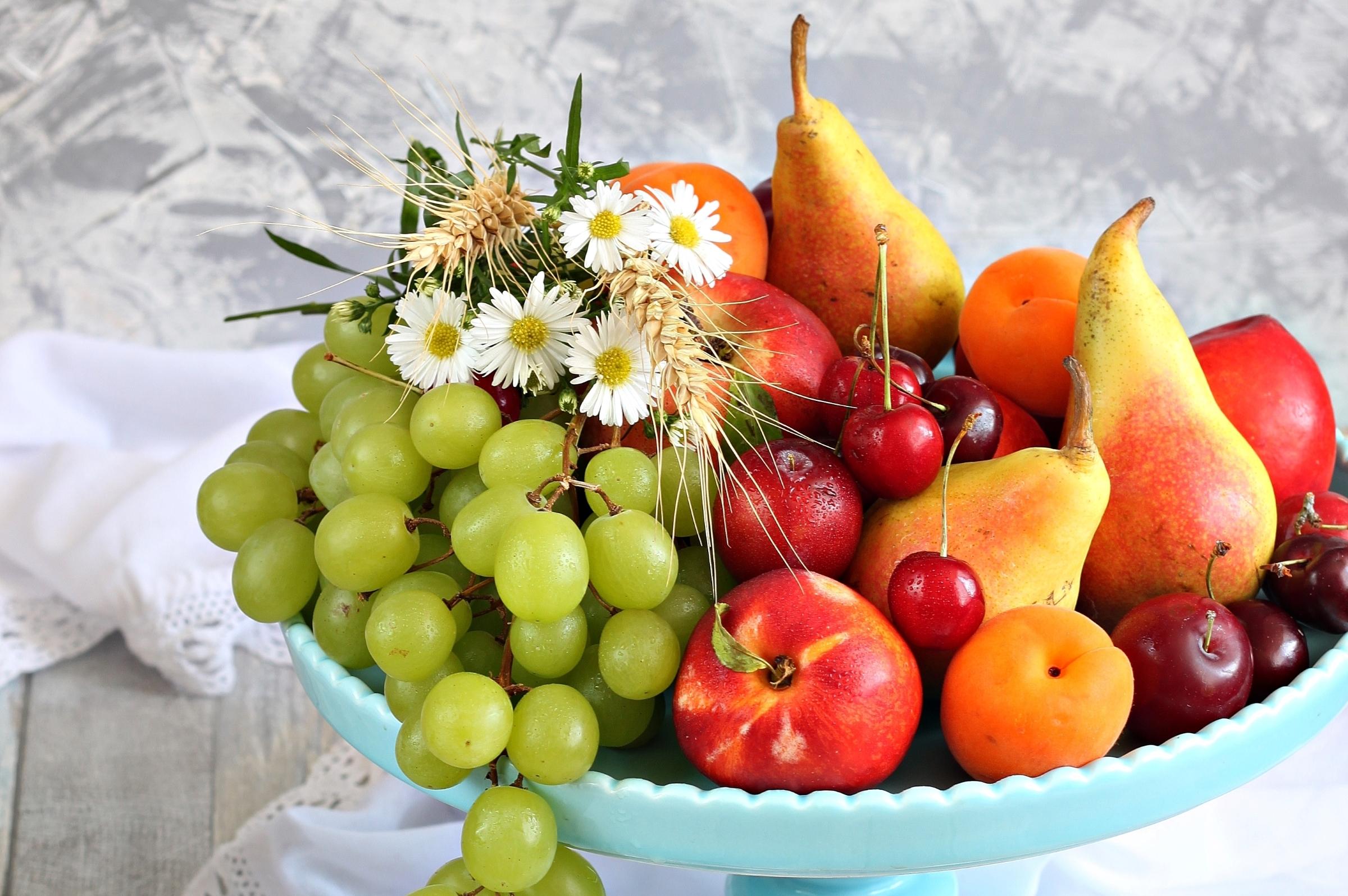 Цветок роза, красивые открытки с фруктами и цветами