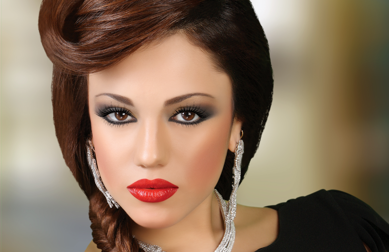 Лицо красивых девушек макияж фото