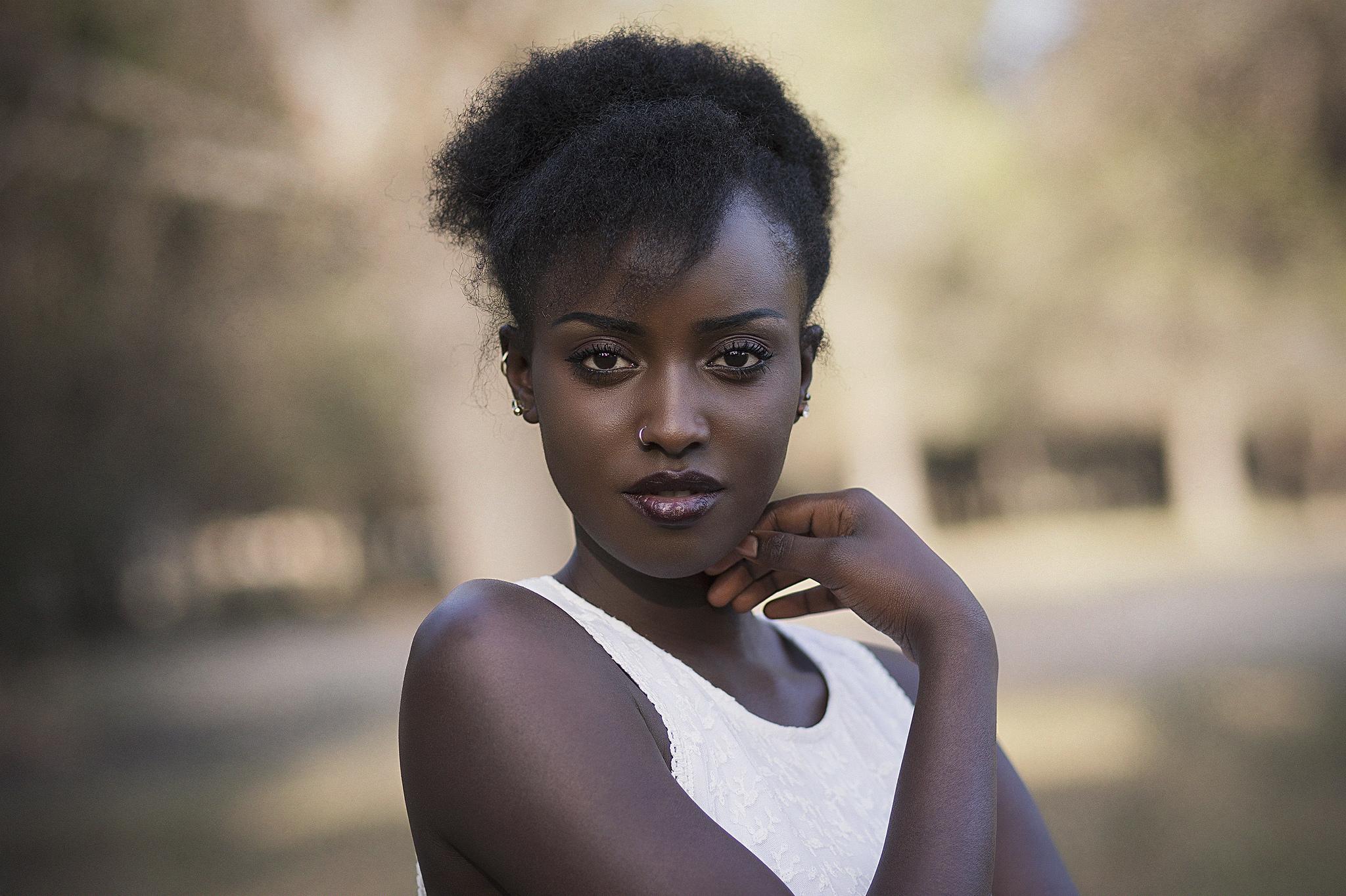 Красивые чернокожие девушки