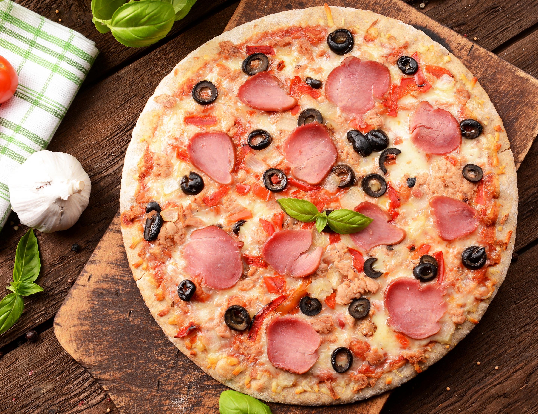 пицца кусок сыр ветчина бесплатно