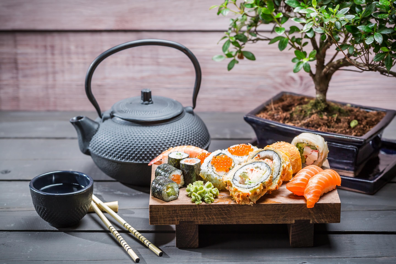 еда суши роллы японская кухня япония food sushi rolls Japanese kitchen Japan бесплатно