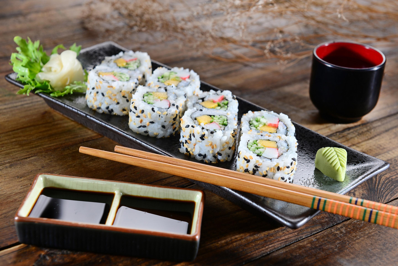 еда суши роллы японская кухня япония food sushi rolls Japanese kitchen Japan загрузить