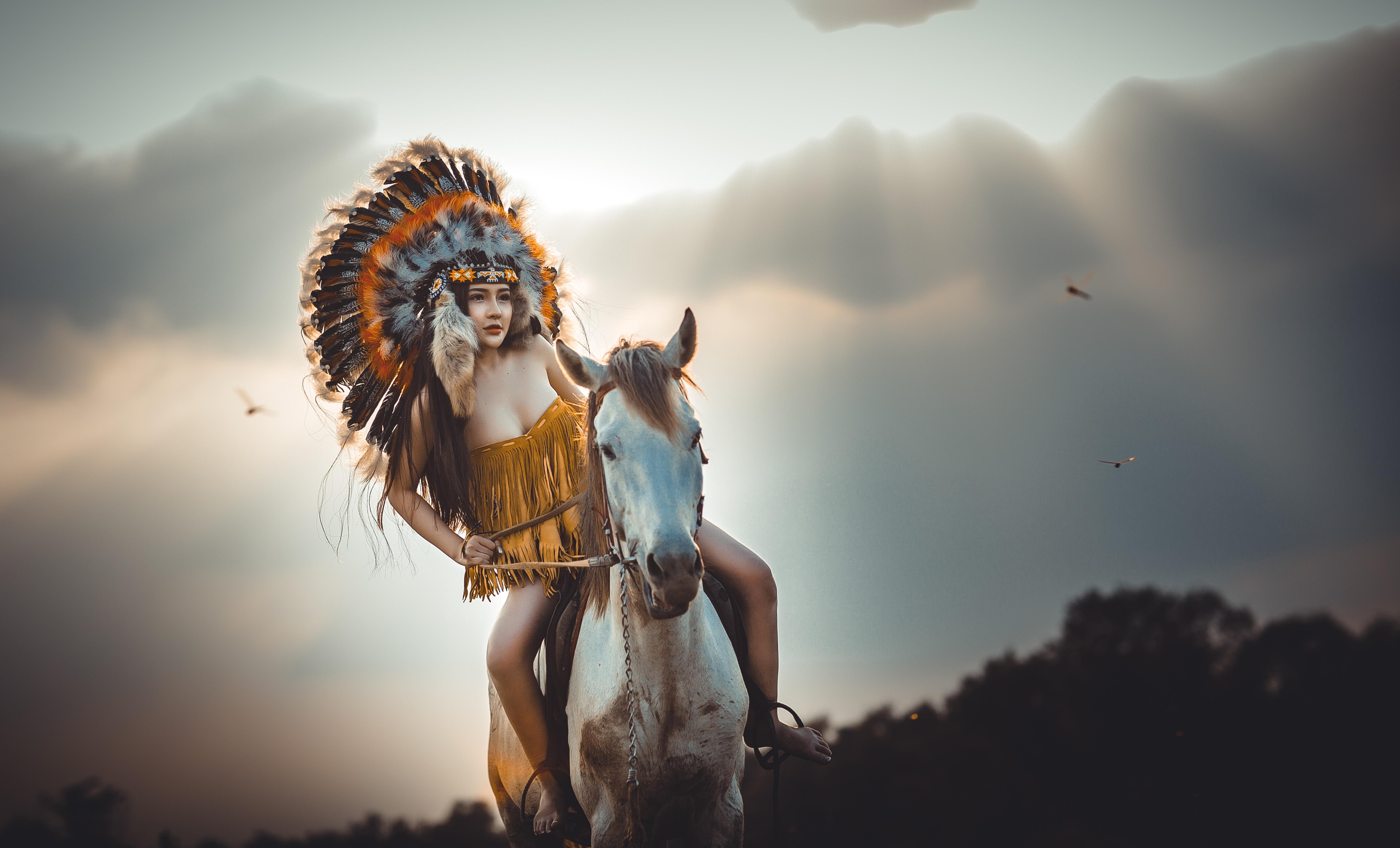 девушка индейцы без смс