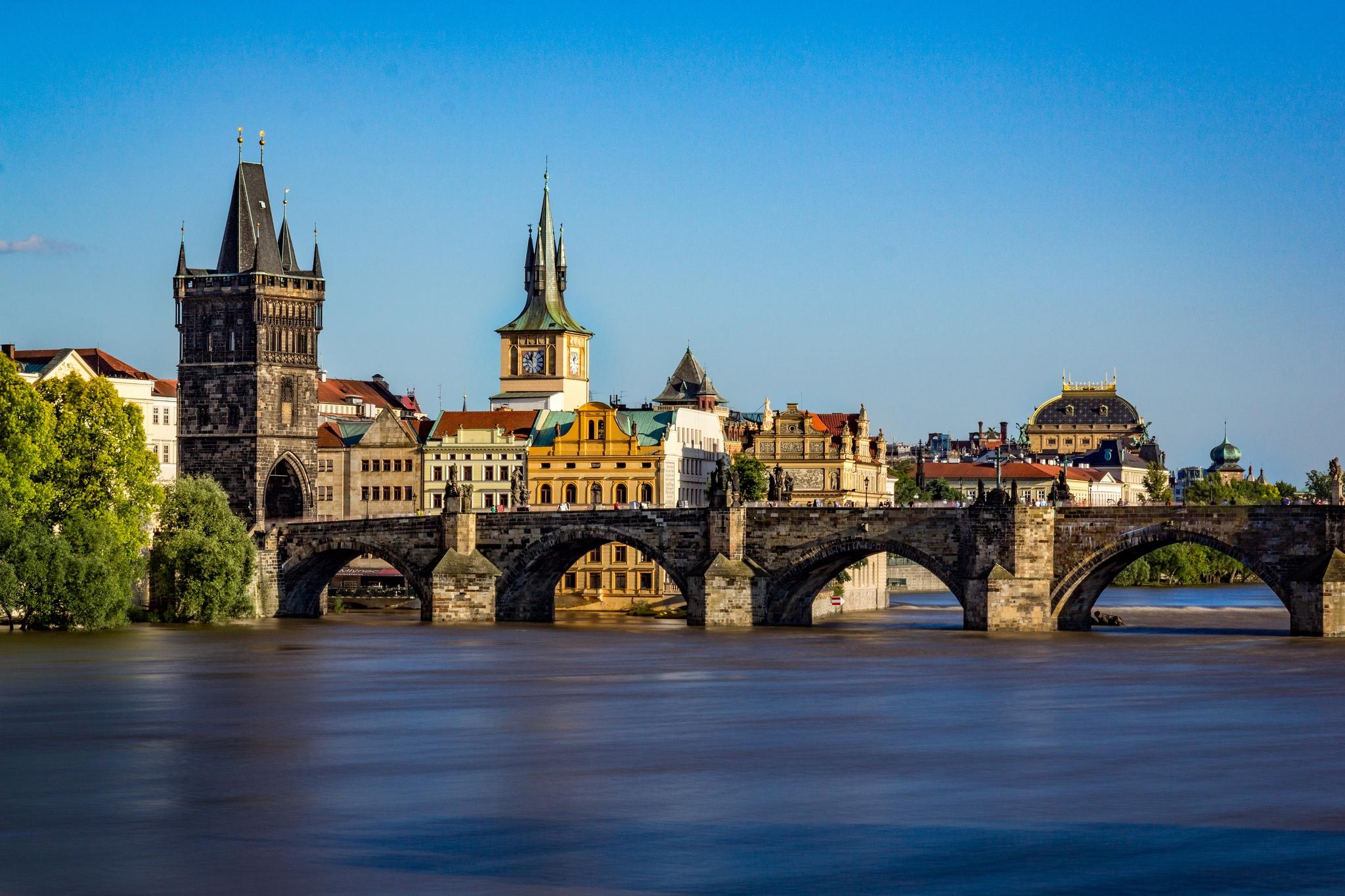 Обои czech republic, prague, чехия, карлов мост. Города foto 13