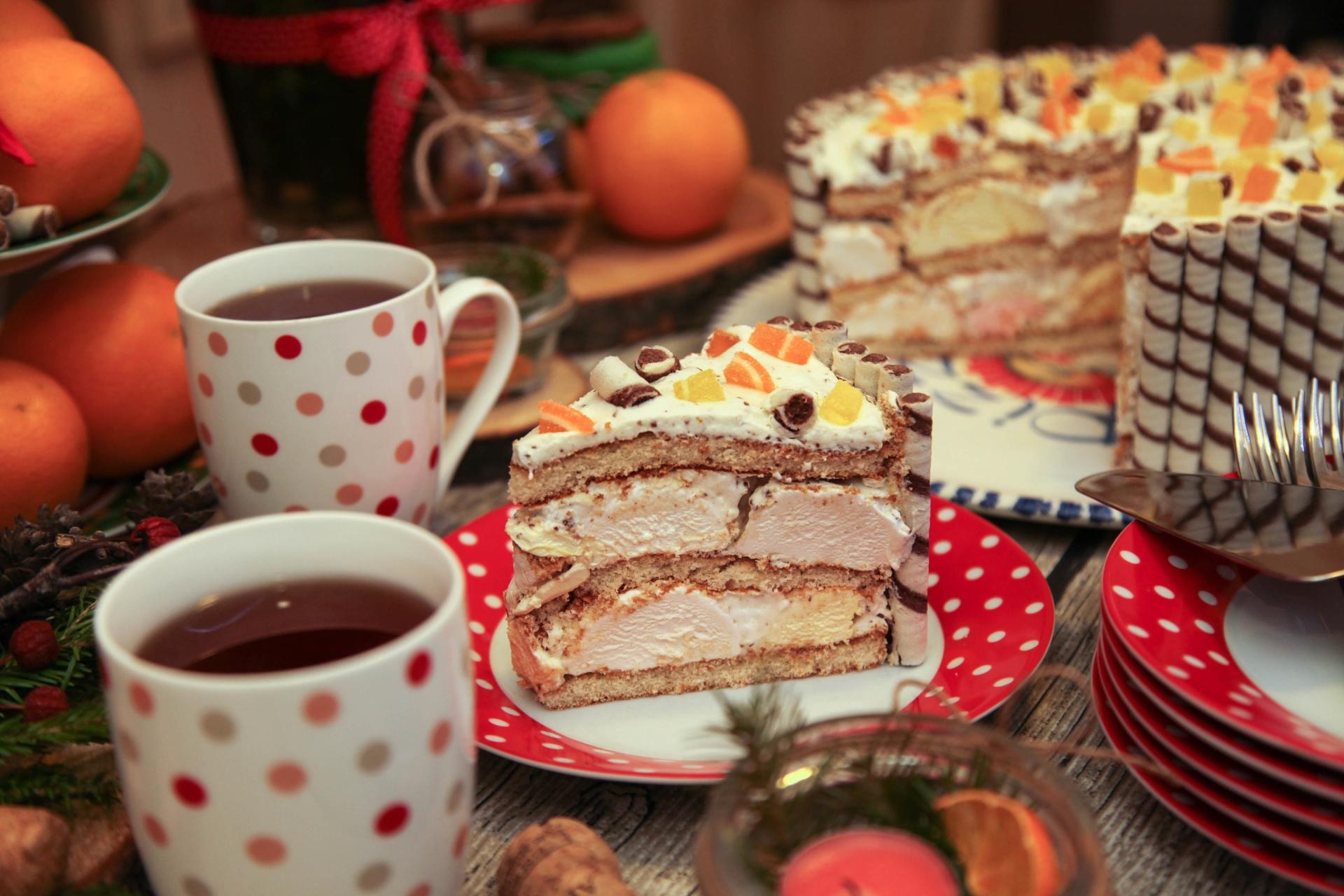 Открытки тортики к чаю, сделать картинку