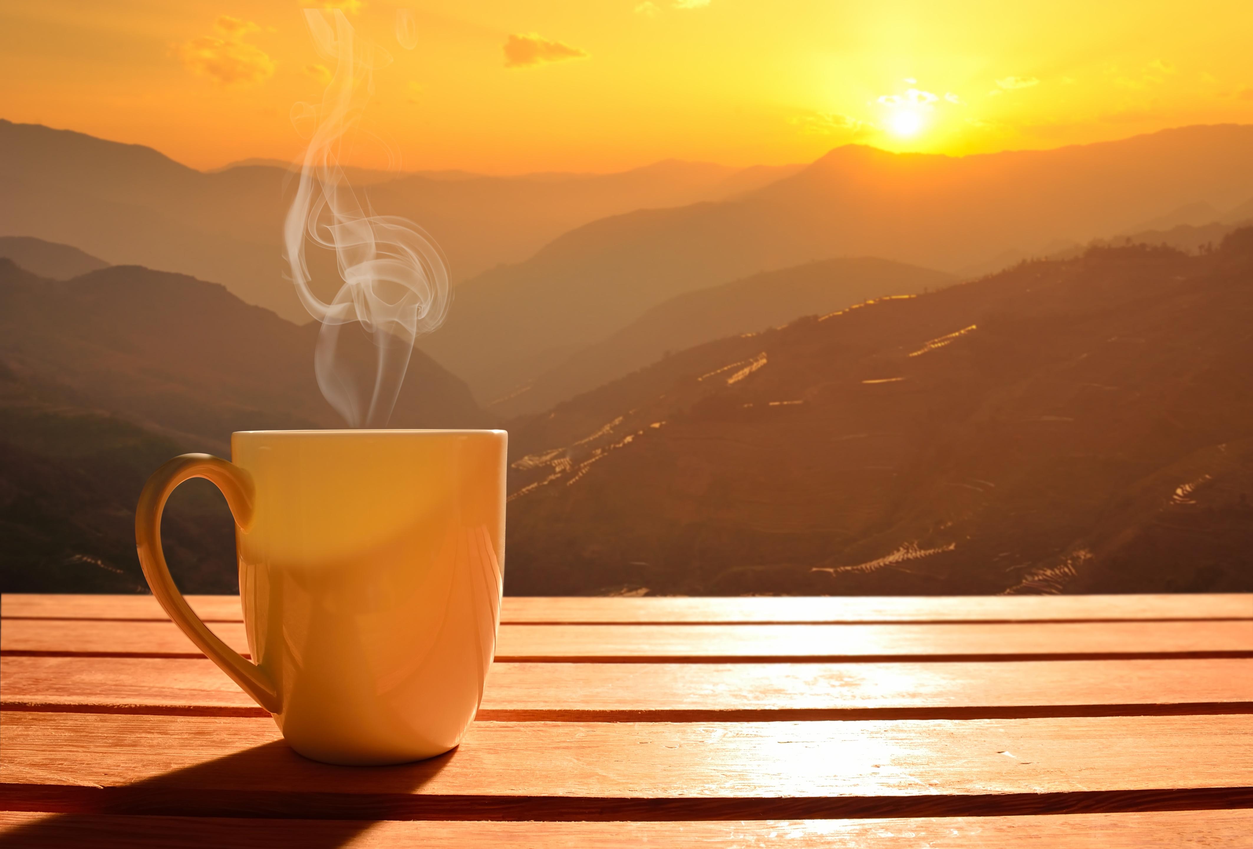 моя картинка доброе утро долина идет воздушном