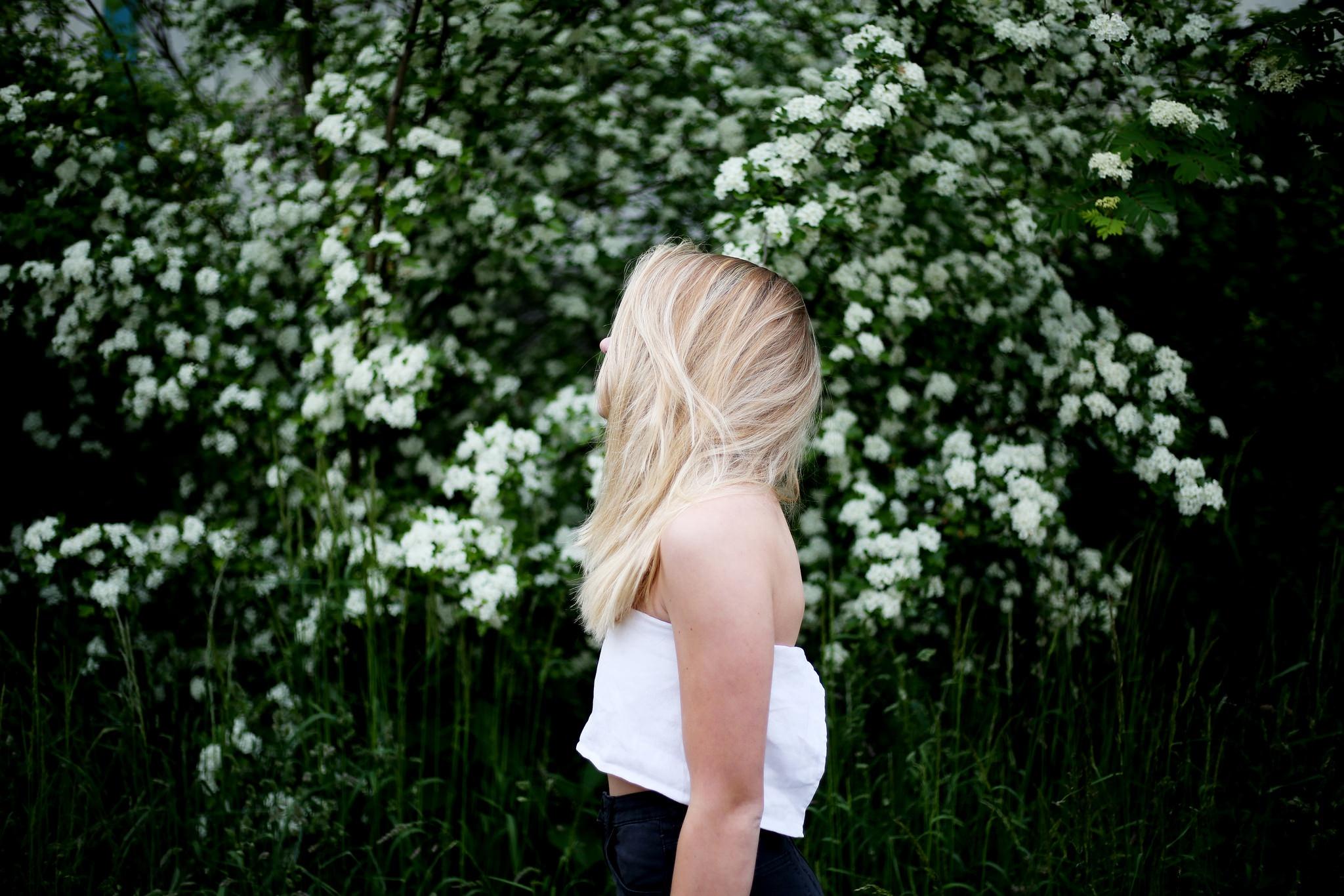 Картинки, картинка блондинки без лица