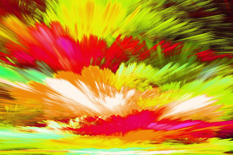 Яркие картинки многоцветные