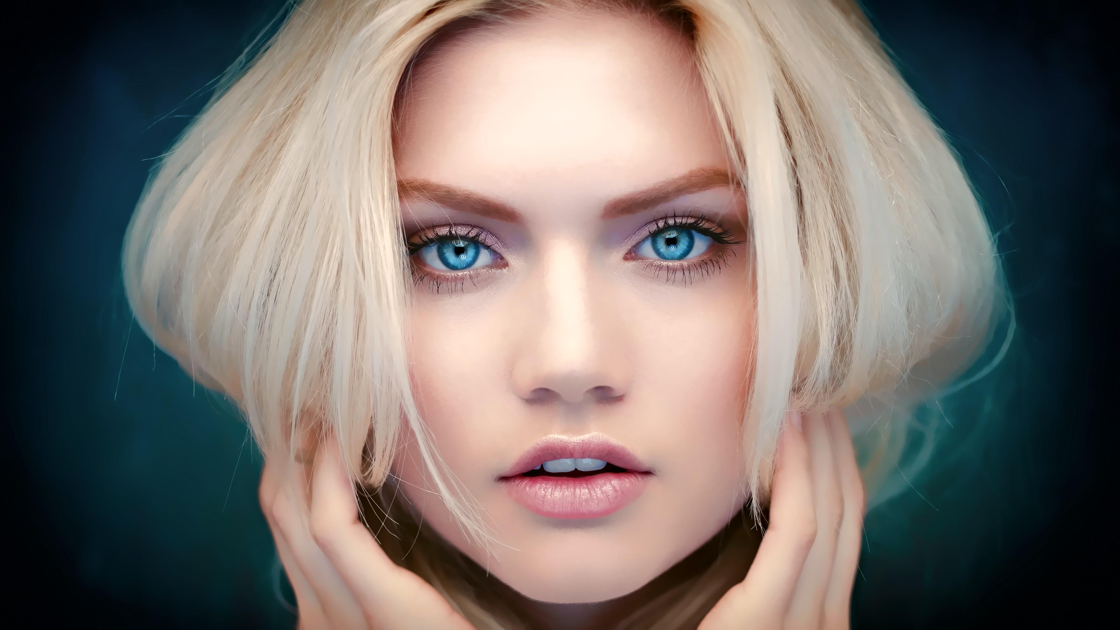 великолепная девушка с яркими глазами без регистрации